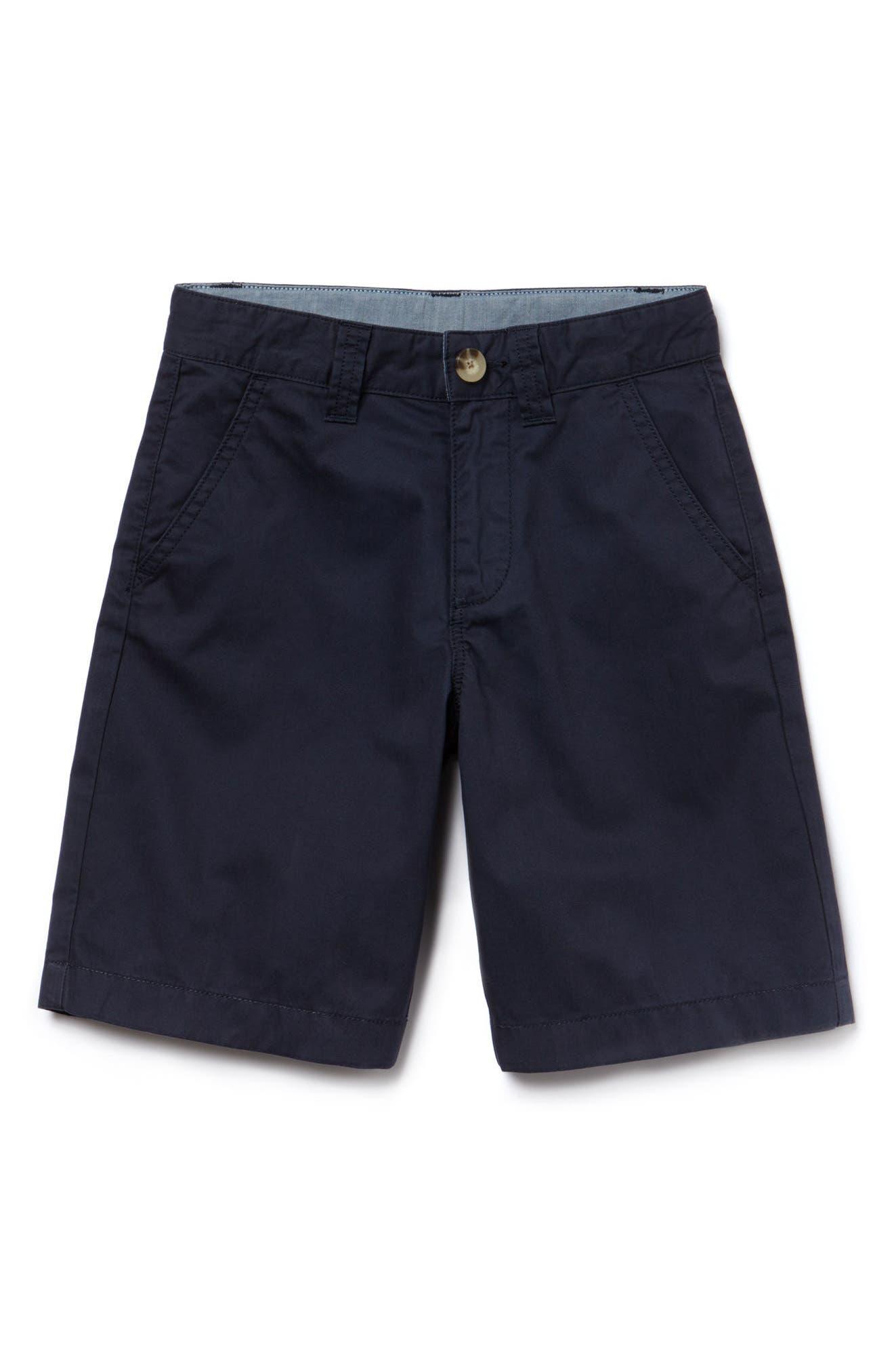 Classic Bermuda Shorts,                         Main,                         color, Navy Blue