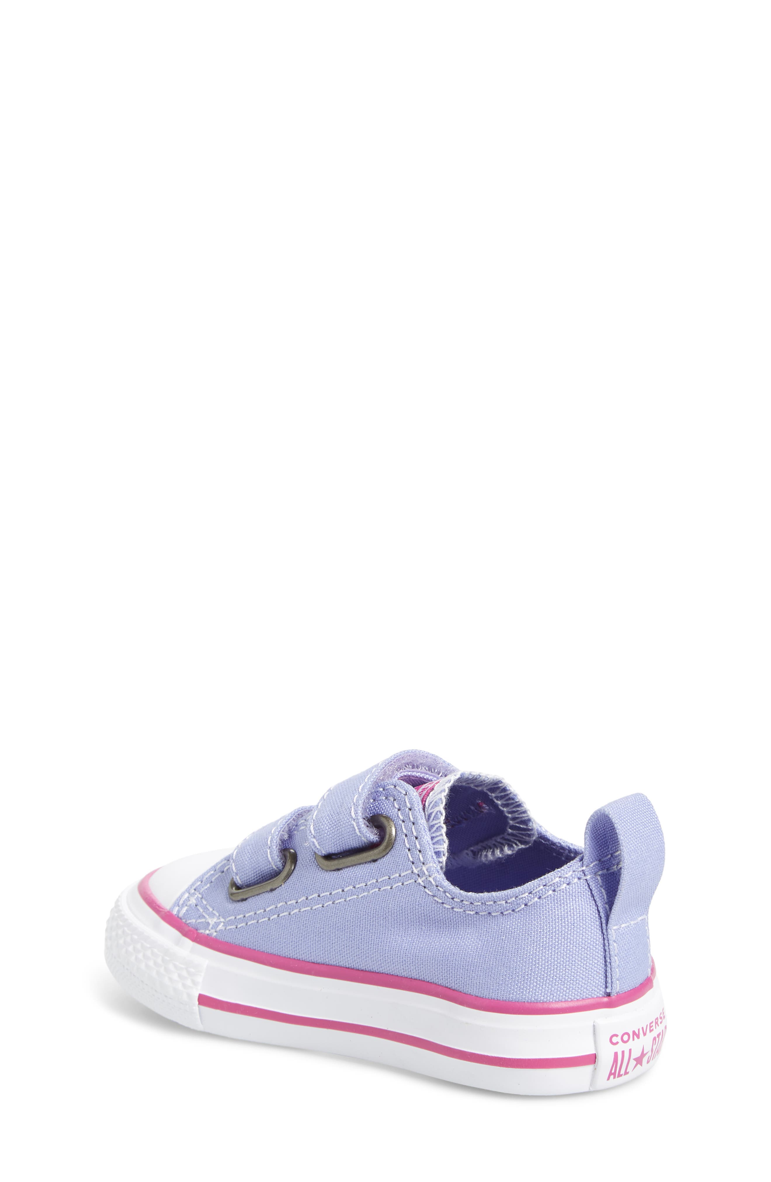 All Star<sup>®</sup> 2V Low Top Sneaker,                             Alternate thumbnail 2, color,                             Twilight Purple