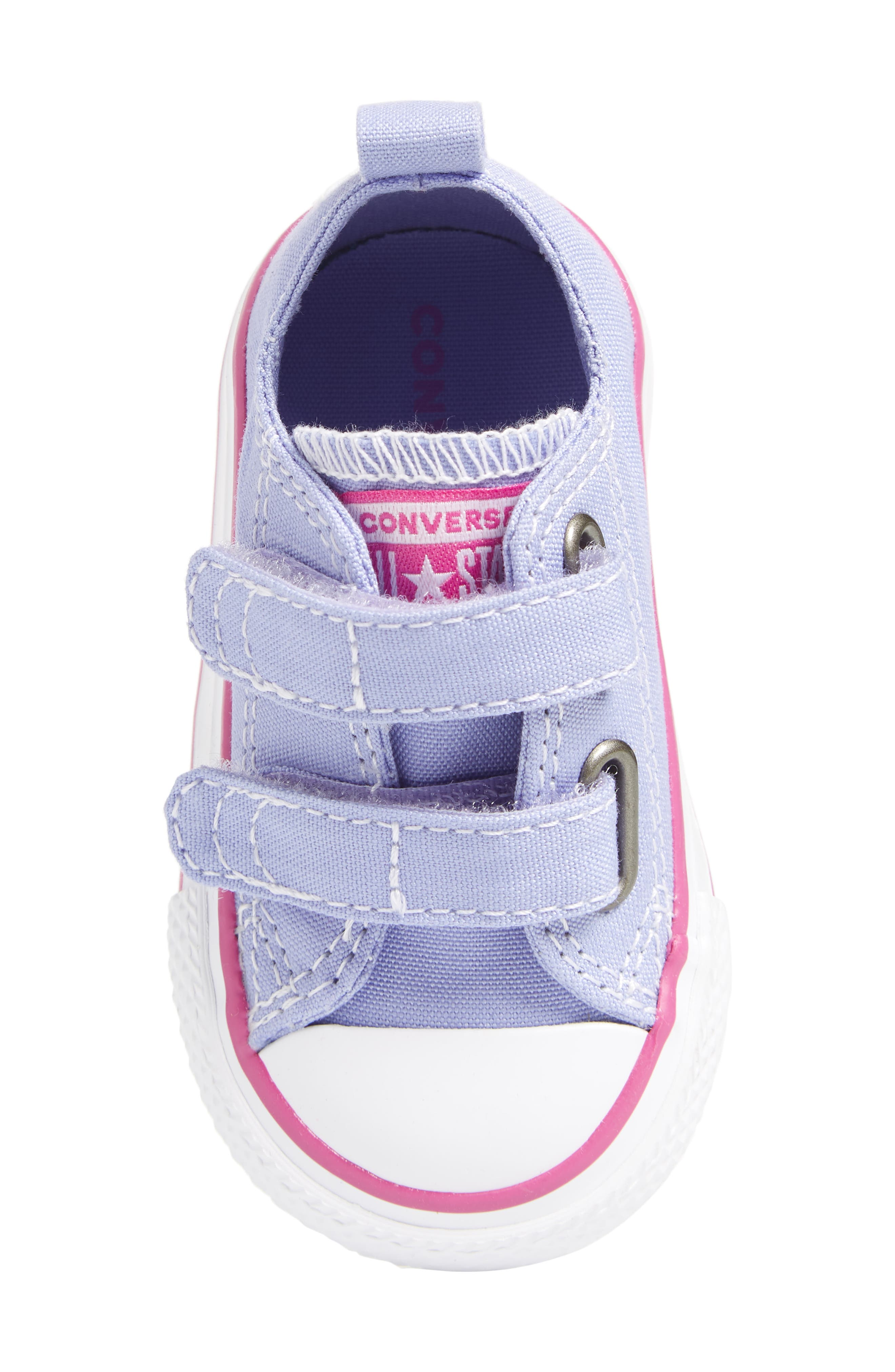 All Star<sup>®</sup> 2V Low Top Sneaker,                             Alternate thumbnail 5, color,                             Twilight Purple