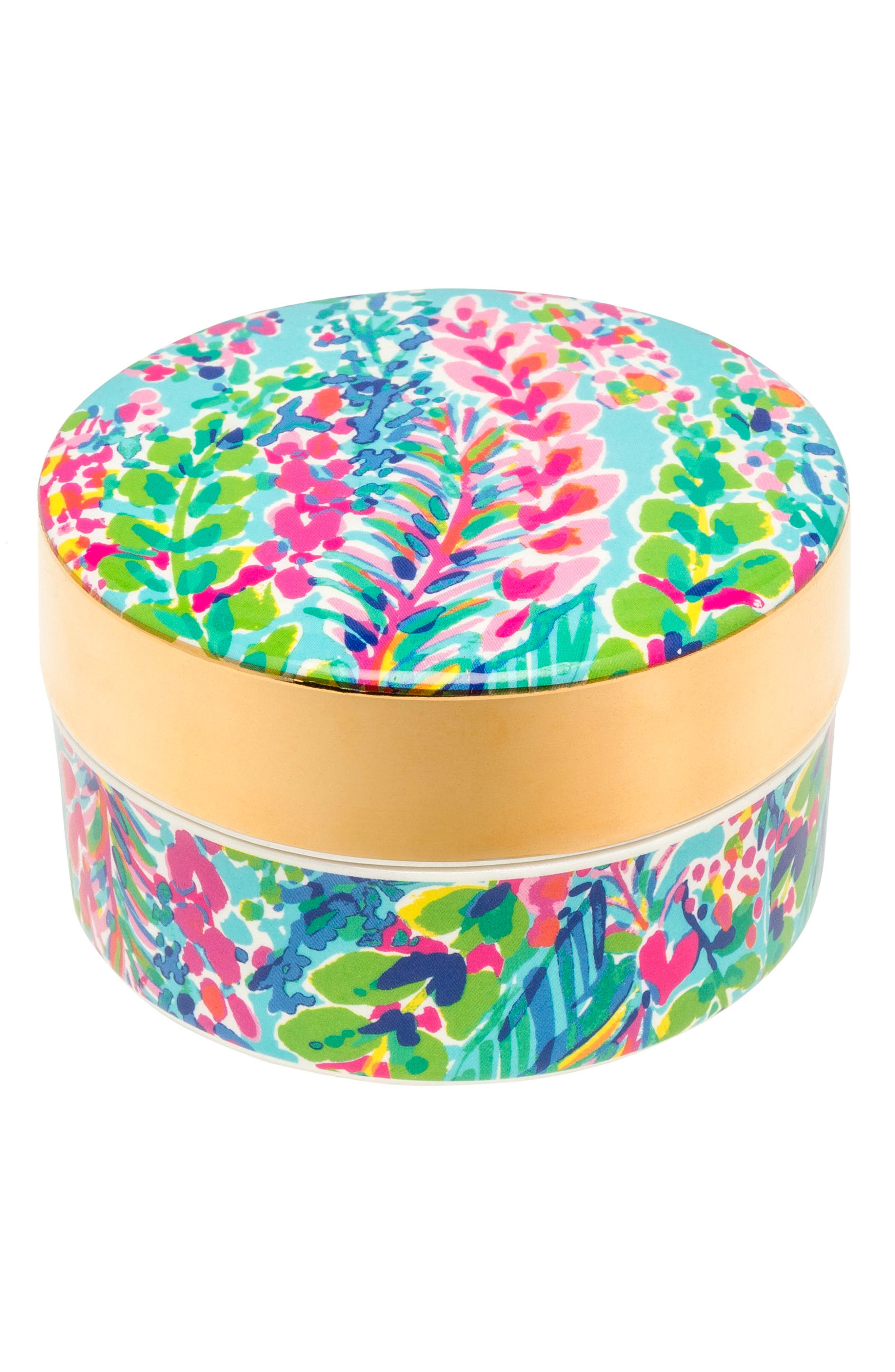 Lilly Pulitzer® Ring Container with Lid