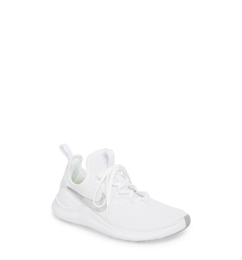 2df7a51e4996 Nike Free Tr 8 Stretch-Knit And Mesh Sneakers In White