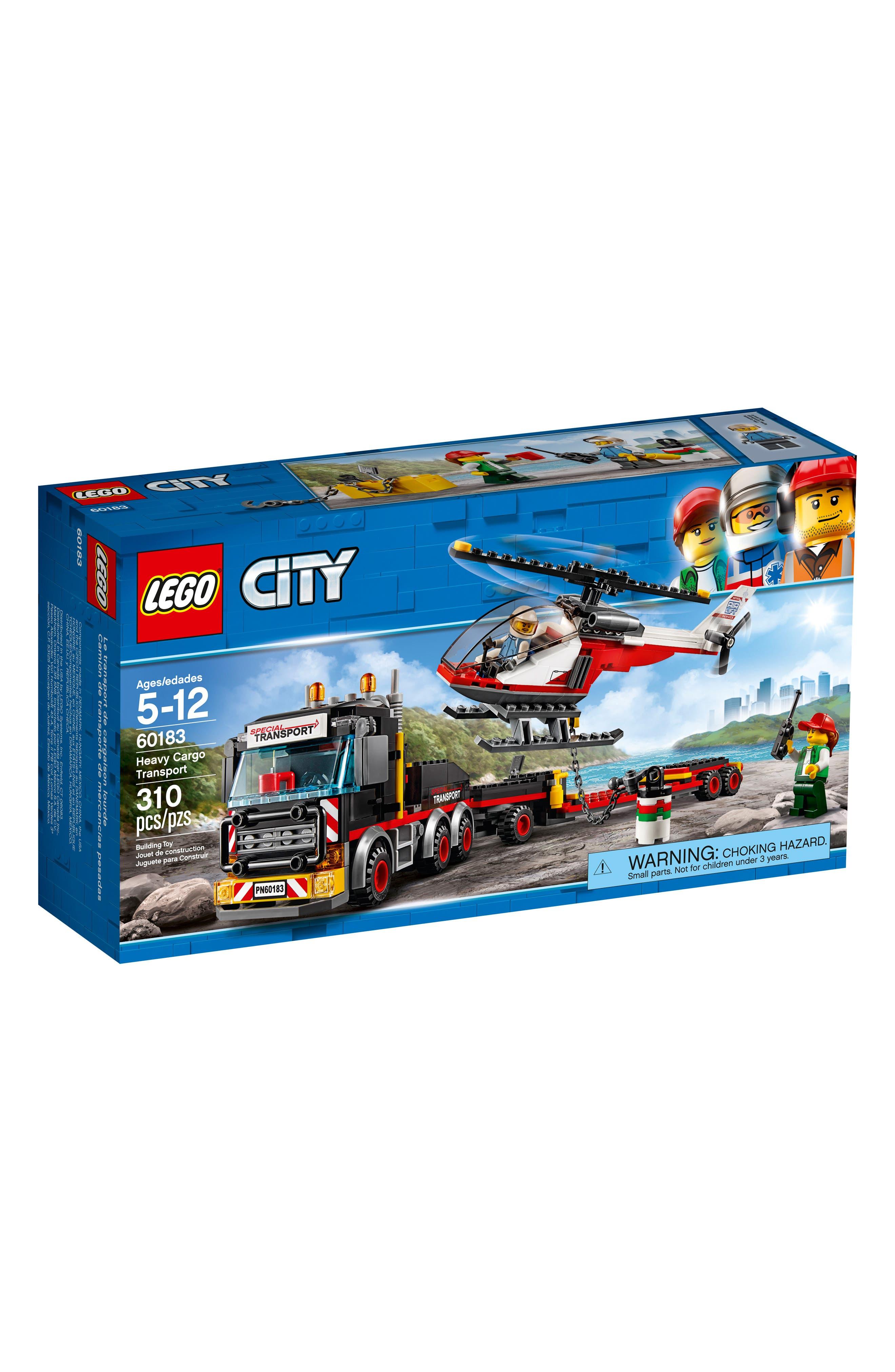 Alternate Image 1 Selected - LEGO® City Heavy Cargo Transport - 60183