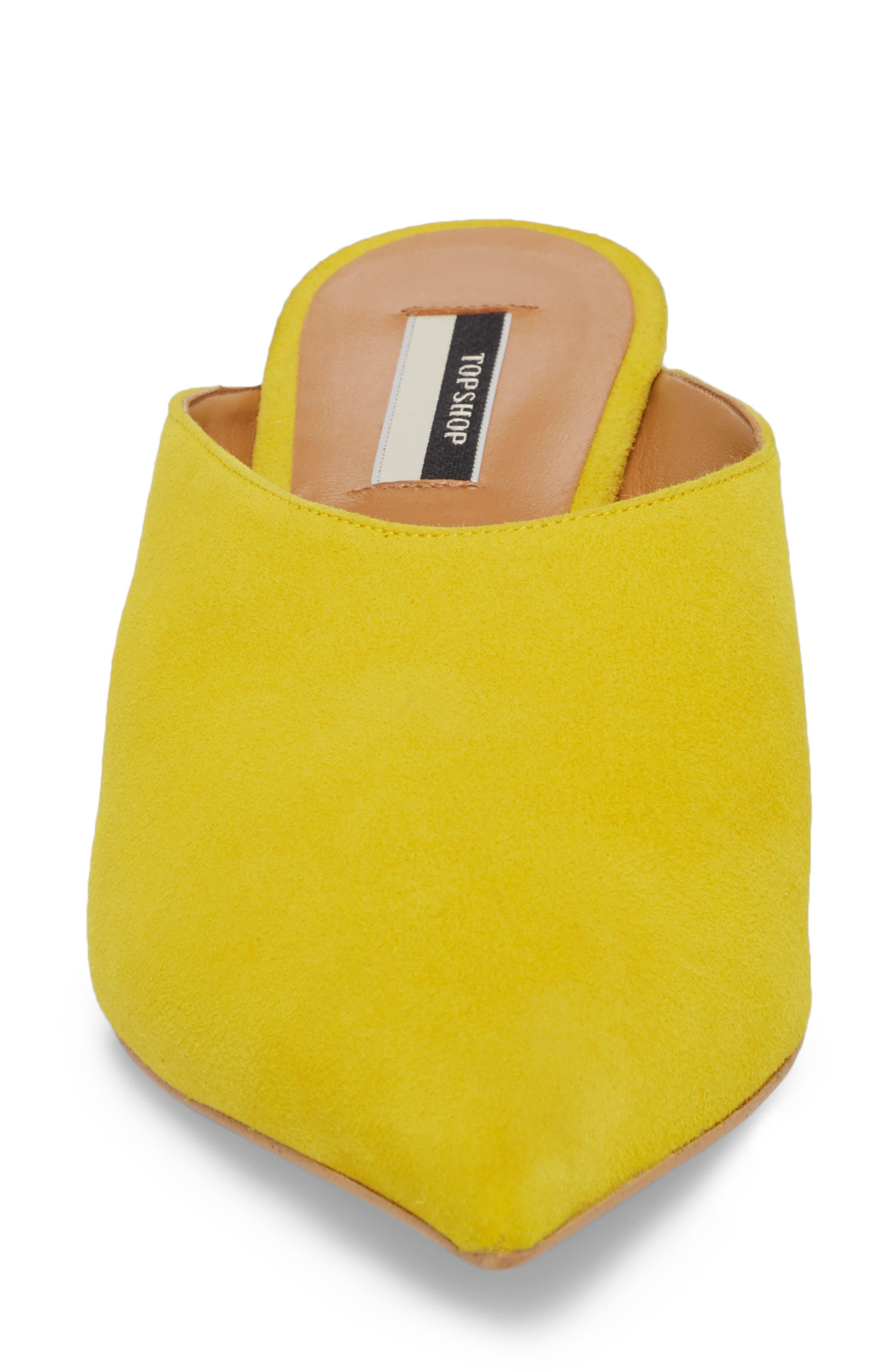 Alternate Image 4  - Topshop Juniper Ball Heel Mule (Women)