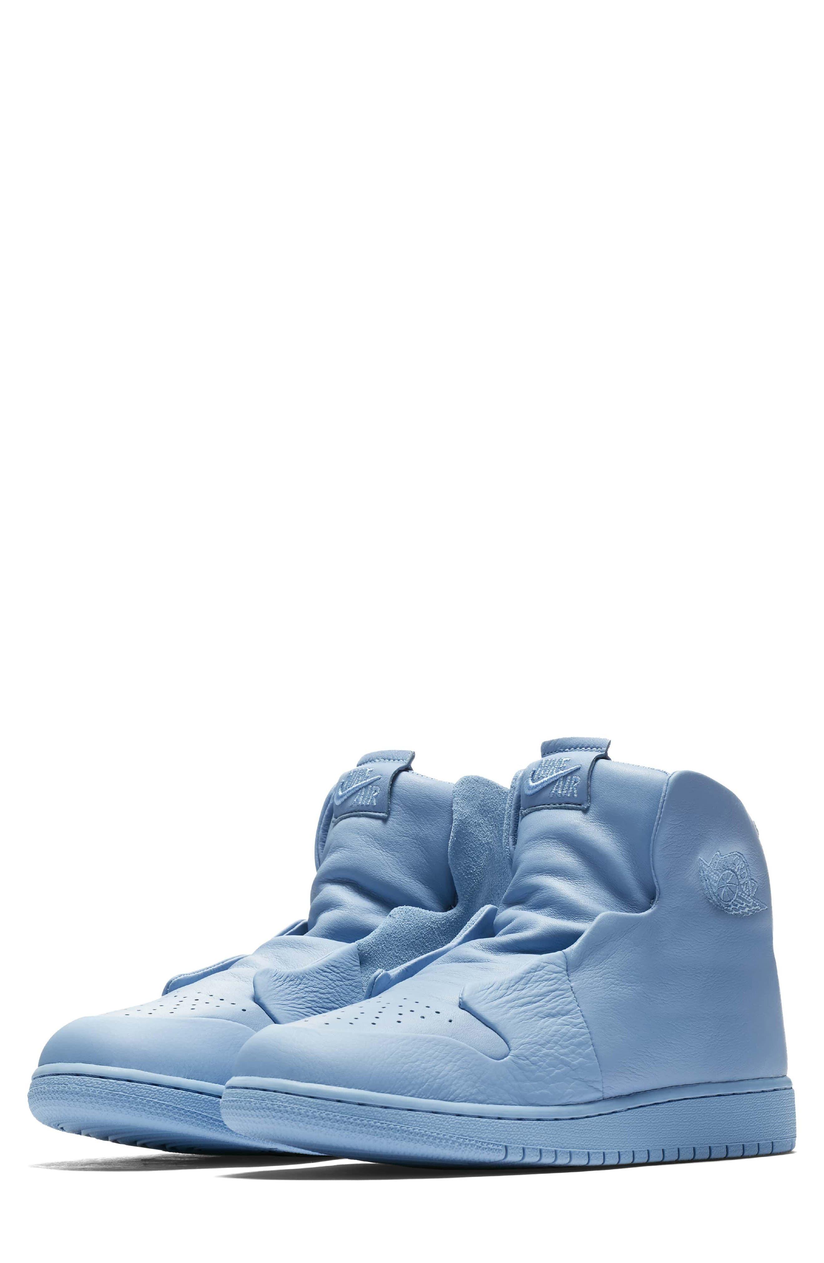 Air Jordan 1 Sage XX High Top Sneaker,                         Main,                         color, Light Blue