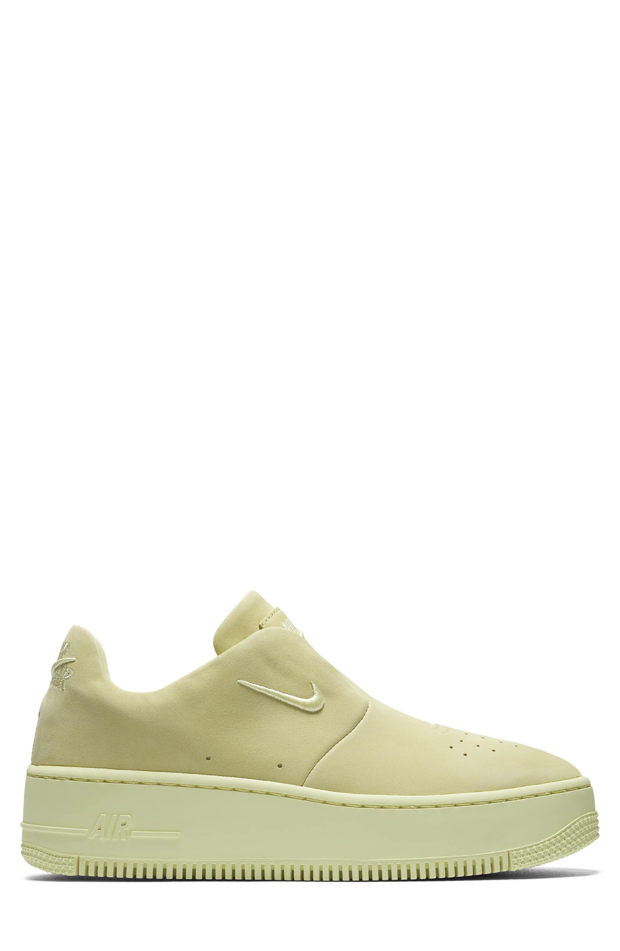 Air Force 1 Sage XX Sneaker,                             Alternate thumbnail 3, color,                             Luminous Green