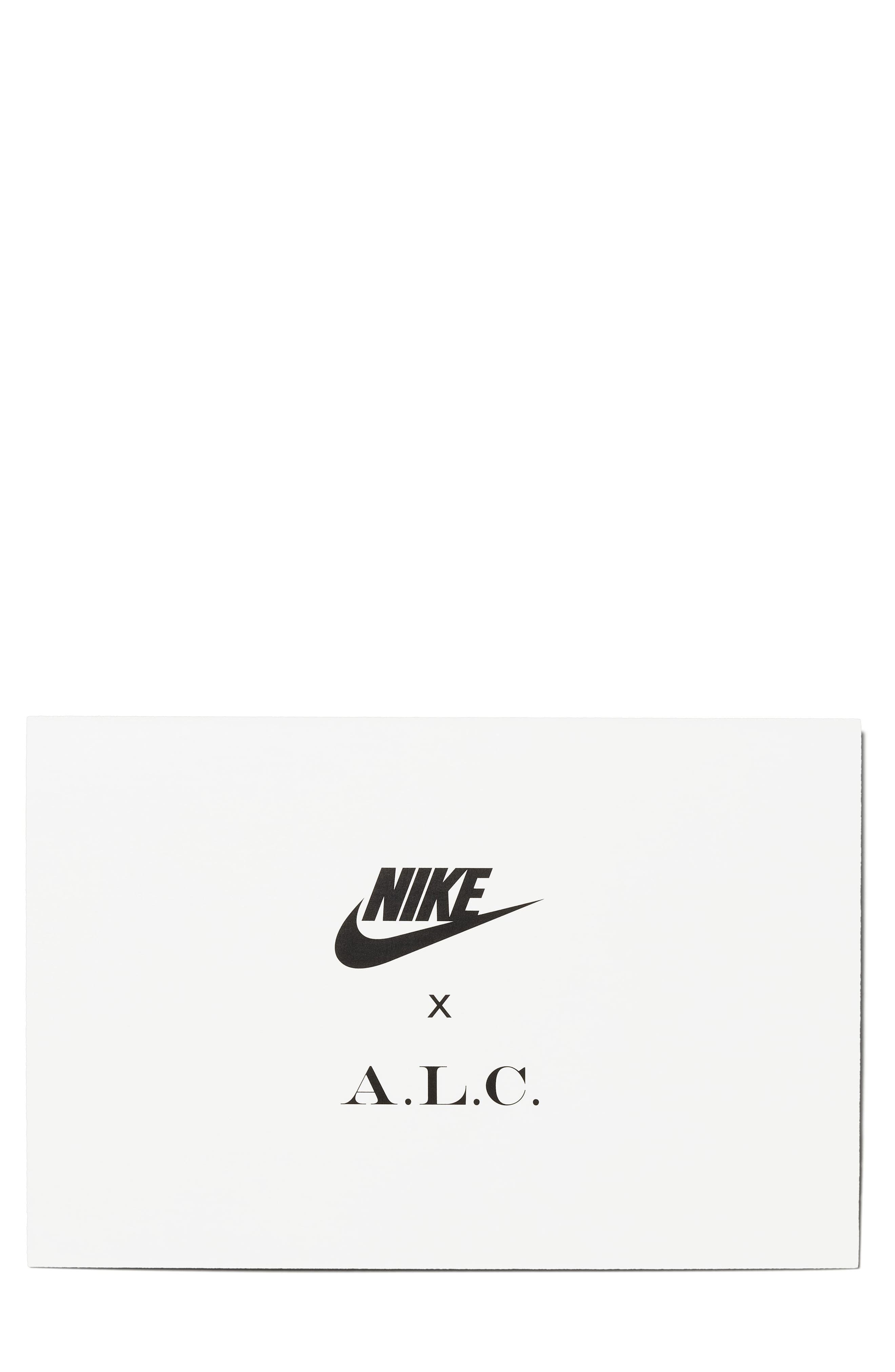 x A.L.C. Classic Cortez Sneaker,                             Alternate thumbnail 5, color,                             Midnight Spruce/ White