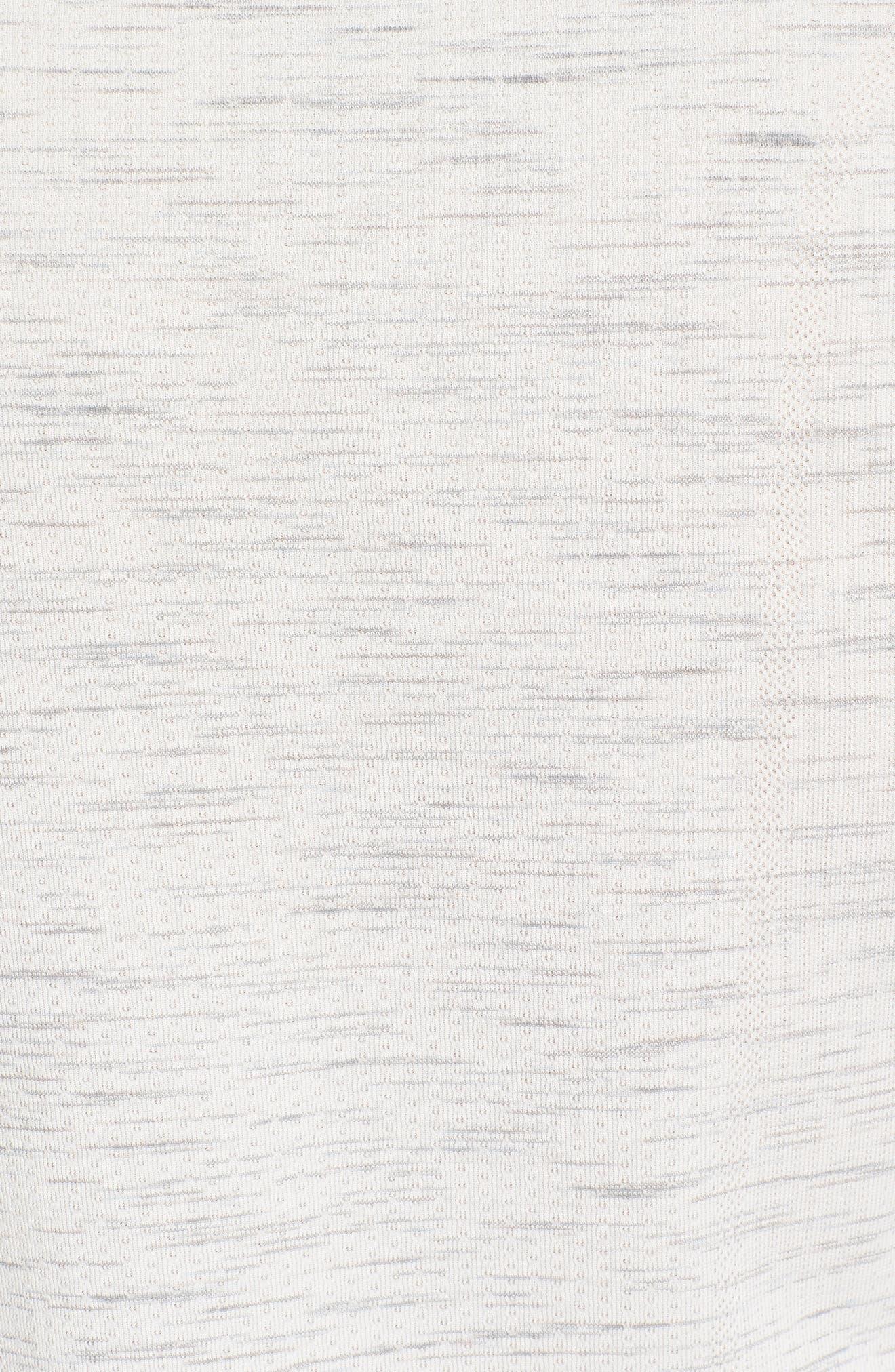 Regular Fit Threadborne T-Shirt,                             Alternate thumbnail 5, color,                             White