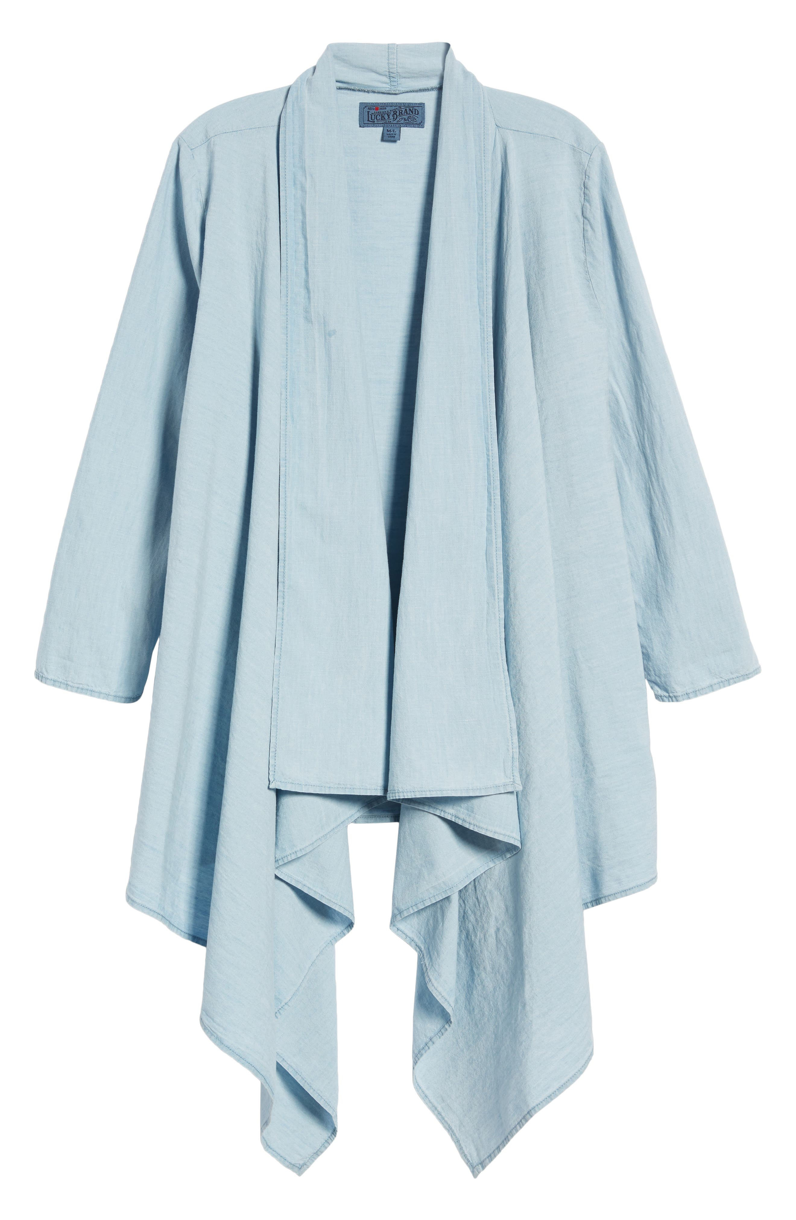 Lucky Draped Top,                             Alternate thumbnail 7, color,                             Myrtle
