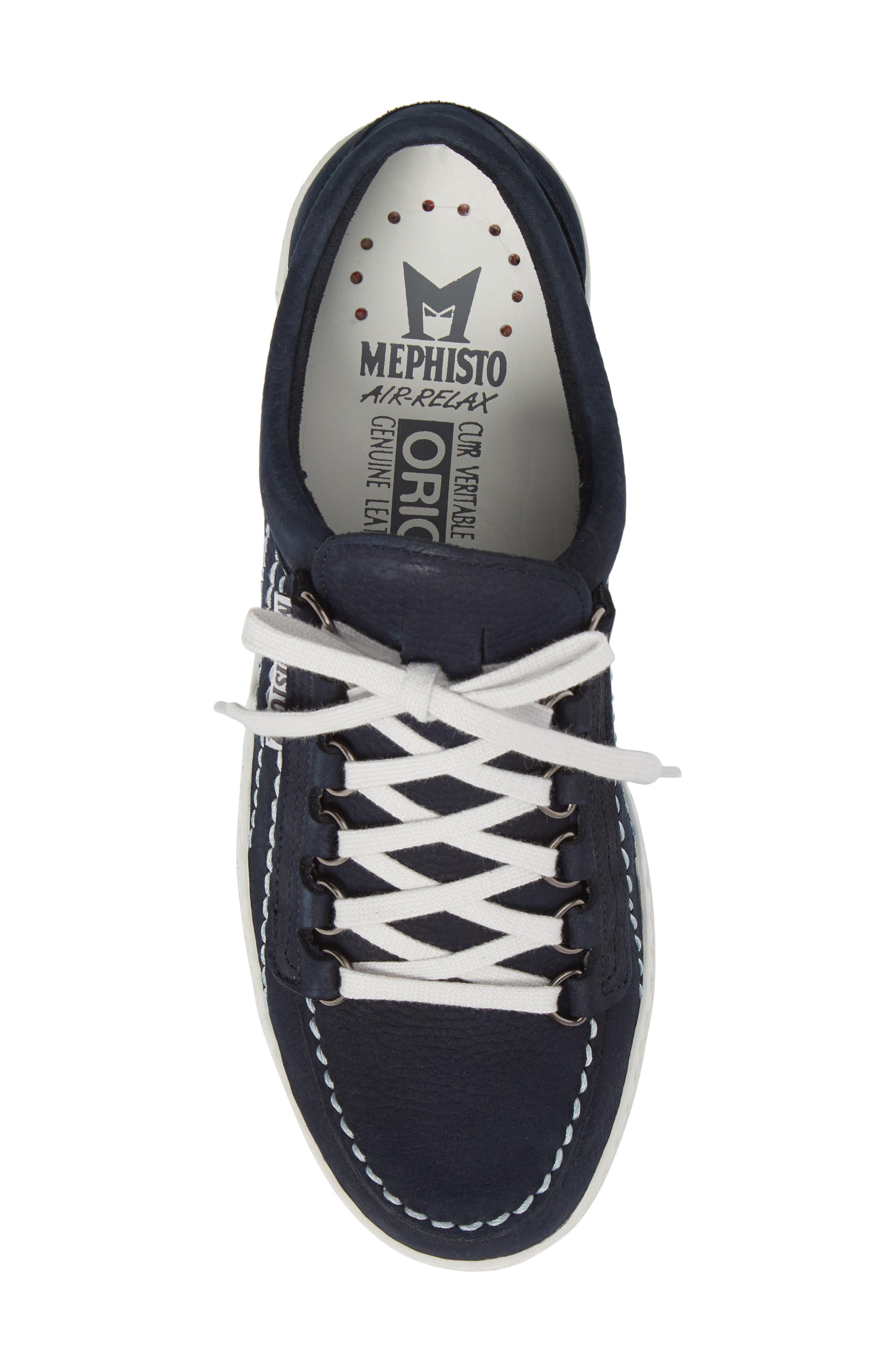 Rainbow Sneaker,                             Alternate thumbnail 5, color,                             Navy