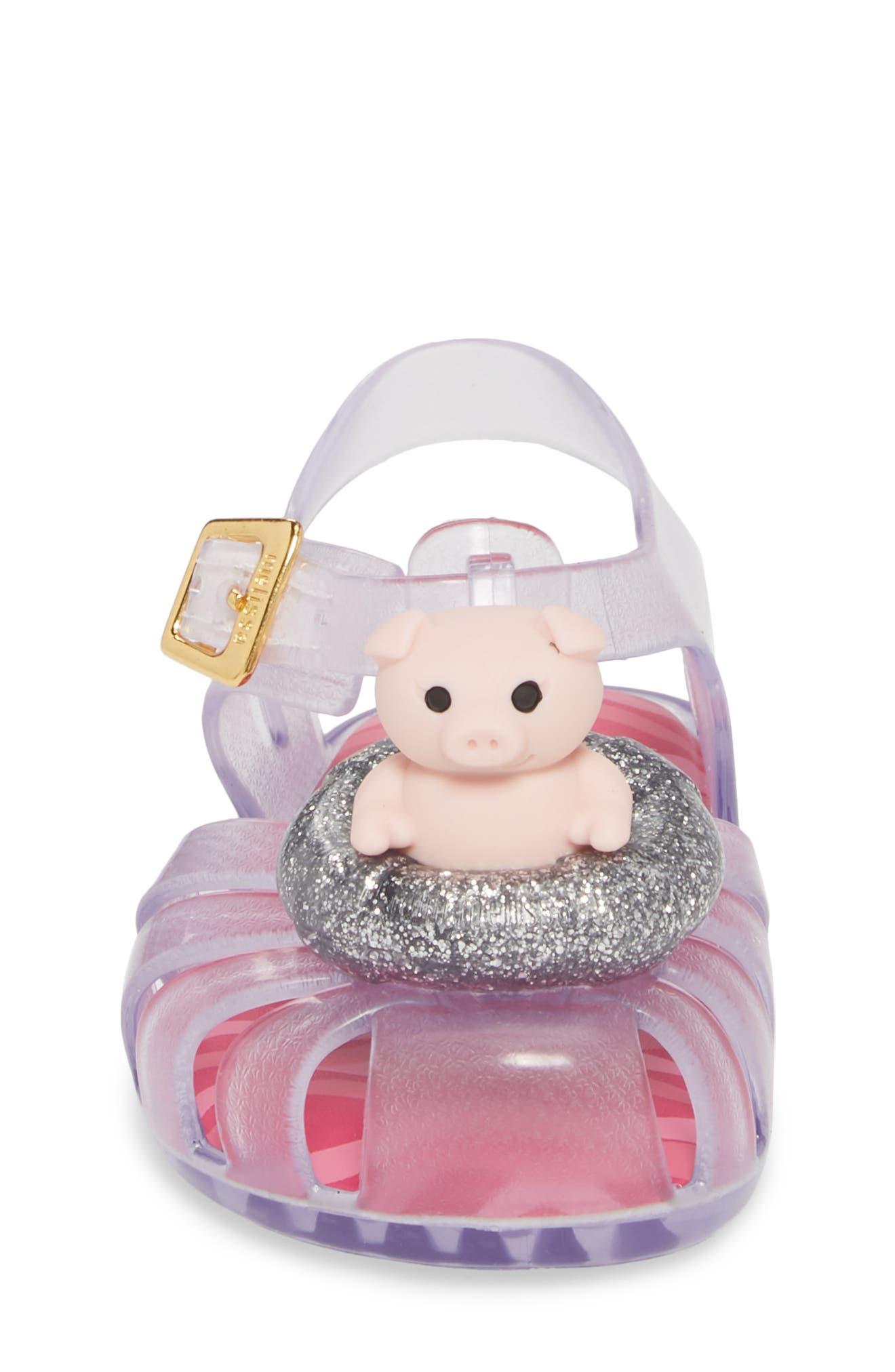 Alternate Image 4  - Mini Melissa Aranha XI Jelly Sandal (Walker & Toddler)