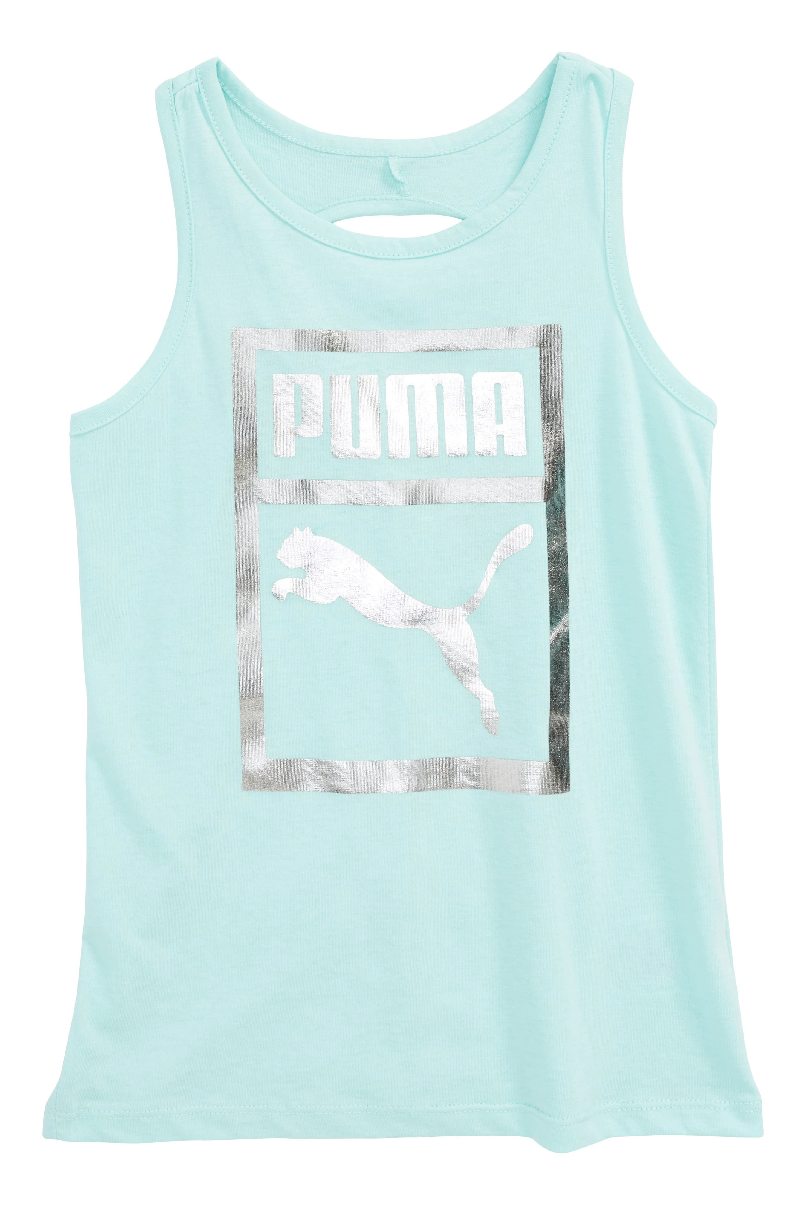 Twist Back Tank,                         Main,                         color, Island Paradise