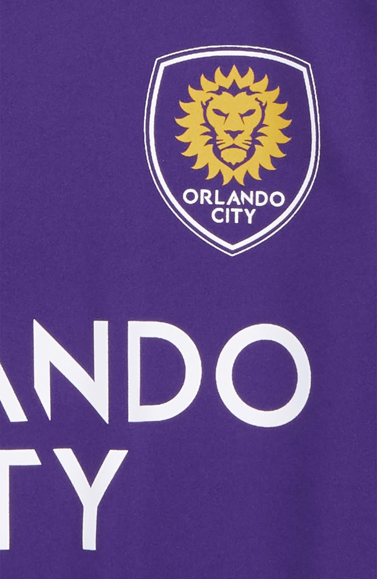 MLS Orlando City SC Primary Logo Graphic T-Shirt,                             Alternate thumbnail 2, color,                             Regal Purple