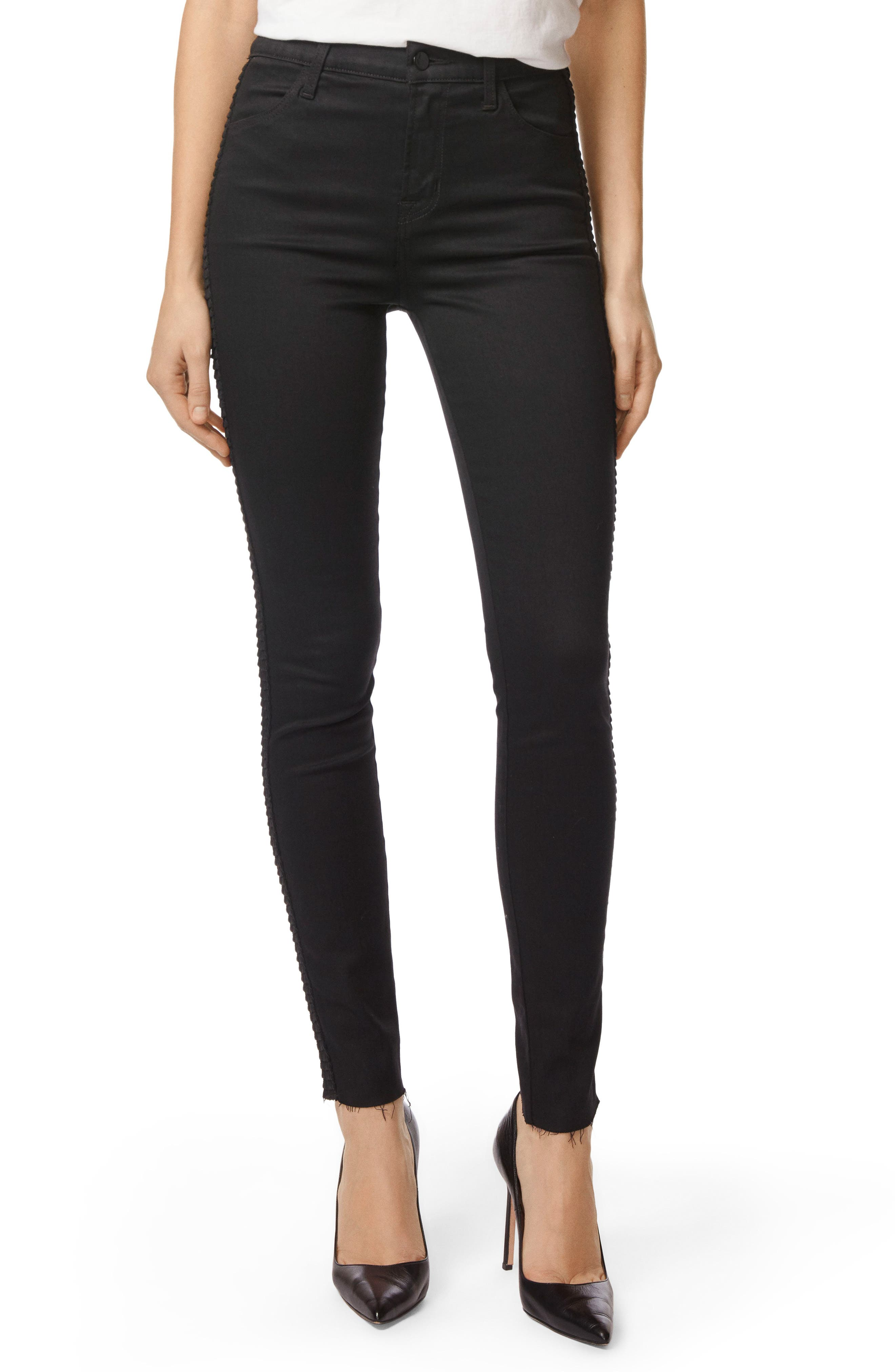 Maria High Waist Skinny Jeans,                         Main,                         color, Highway