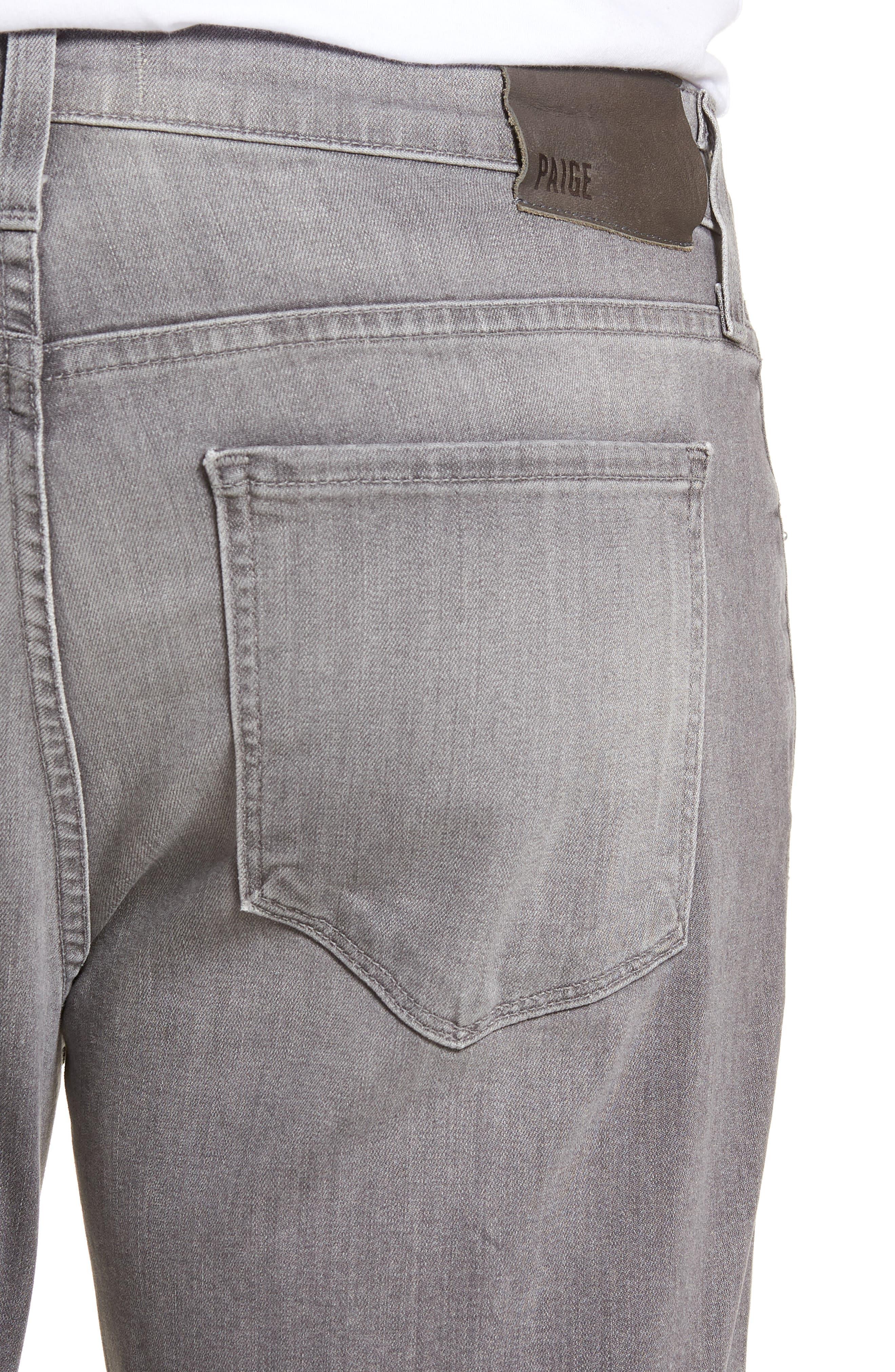 Normandie Straight Leg Jeans,                             Alternate thumbnail 4, color,                             Annex