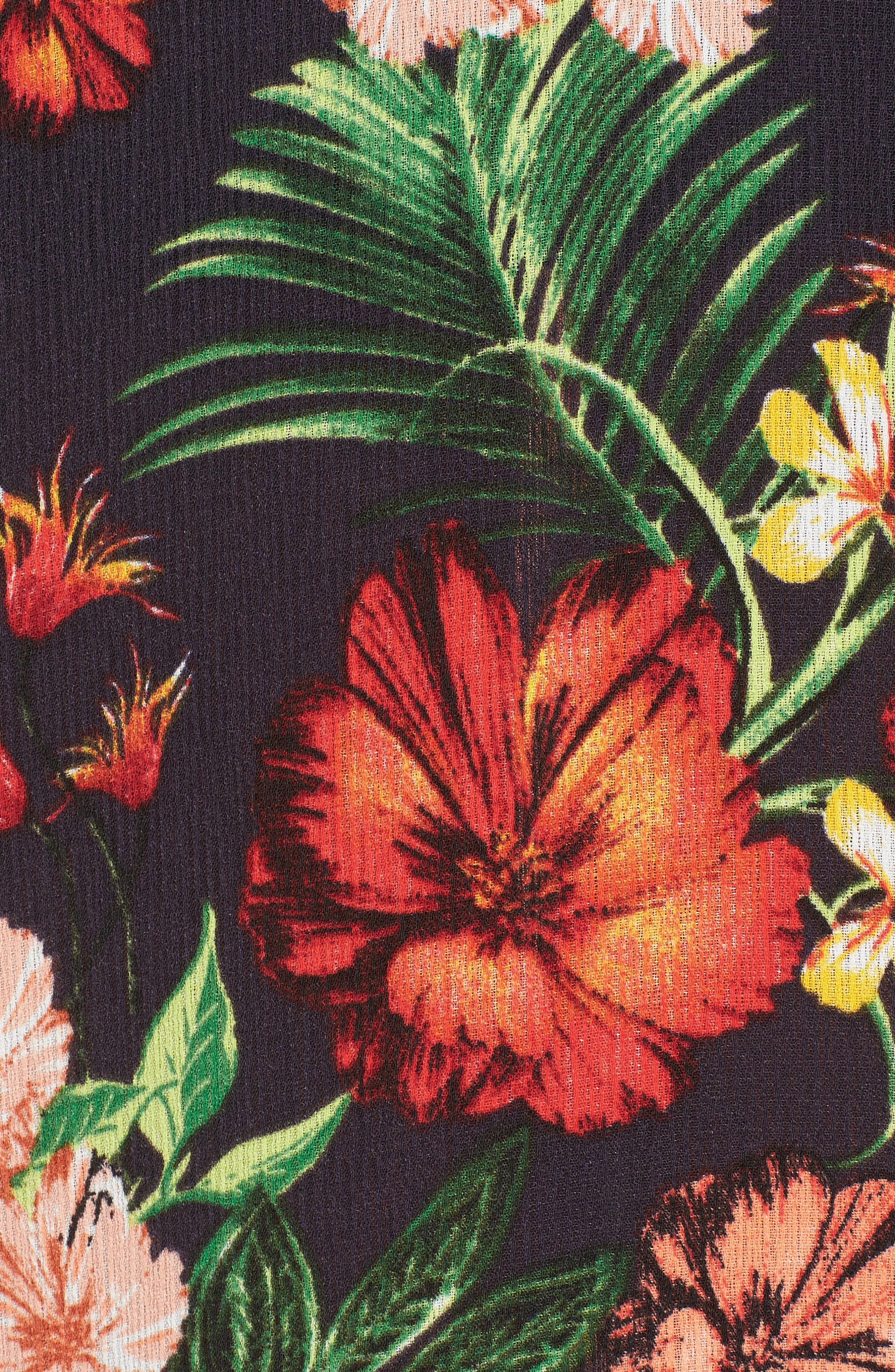 Alternate Image 6  - Floral Maxi Skirt