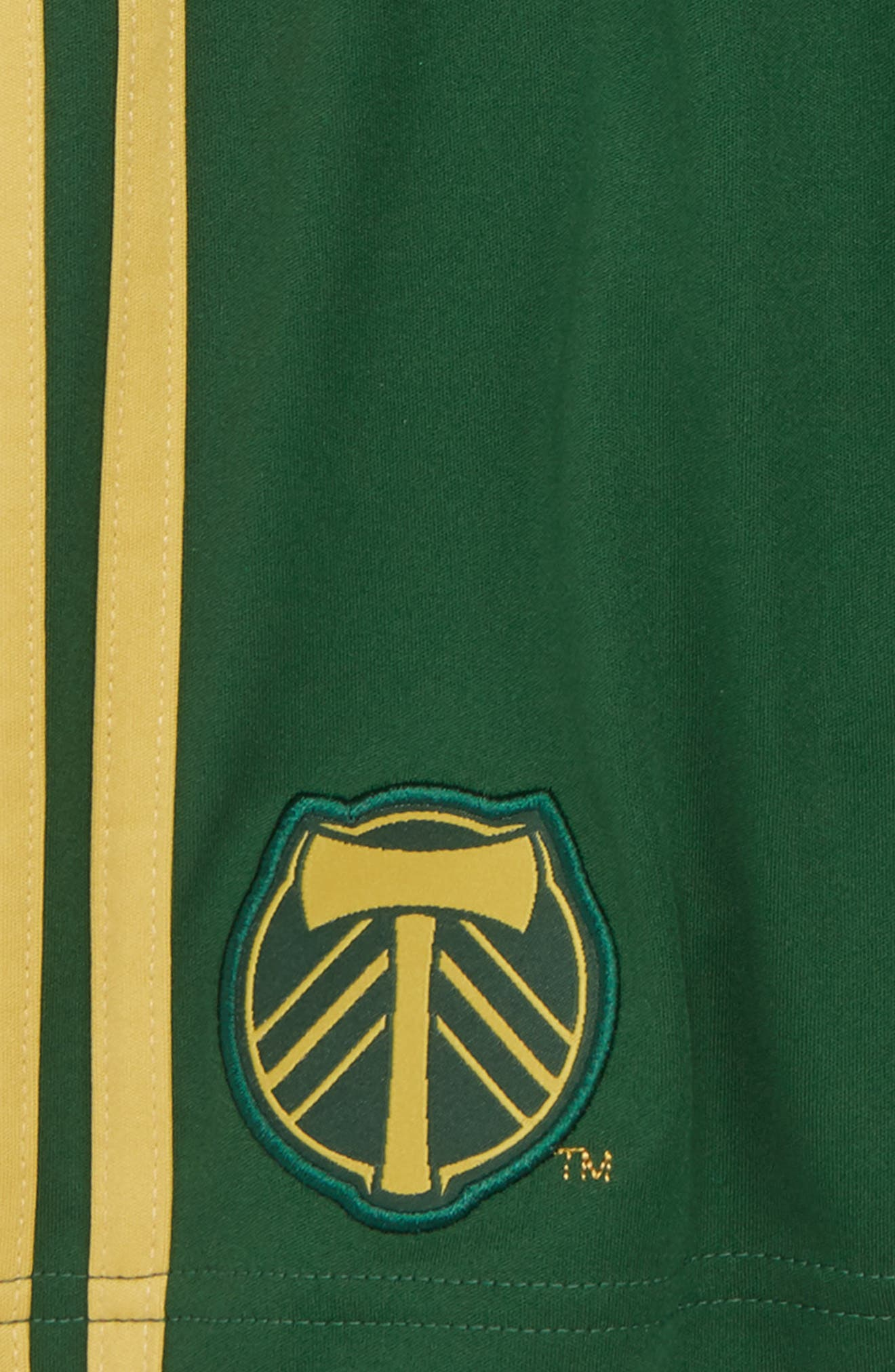 MLS Portland Timbers Shorts,                             Alternate thumbnail 2, color,                             Ponderosa