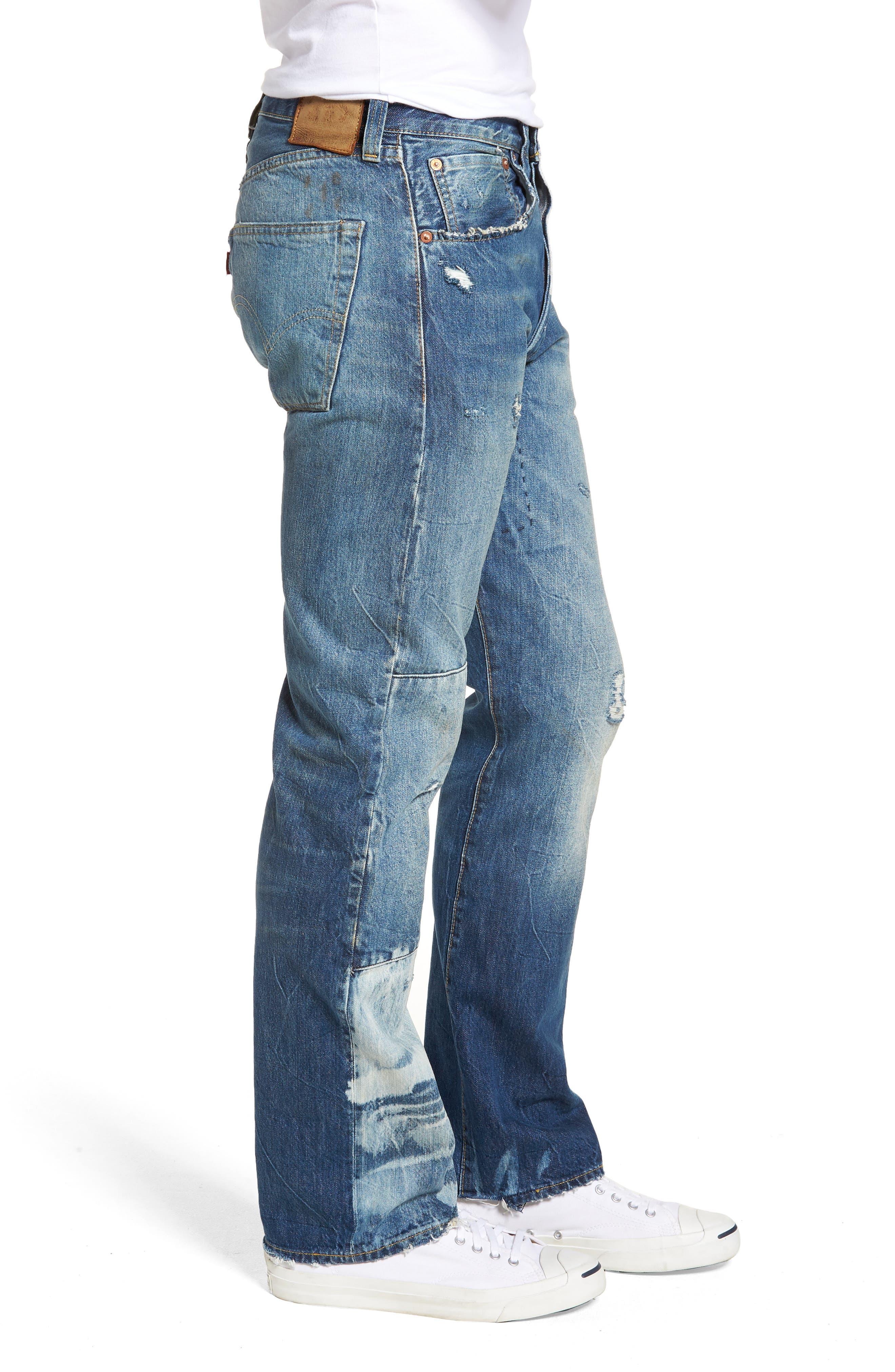 1947 501<sup>®</sup> Tapered Leg Jeans,                             Alternate thumbnail 3, color,                             Reef Break