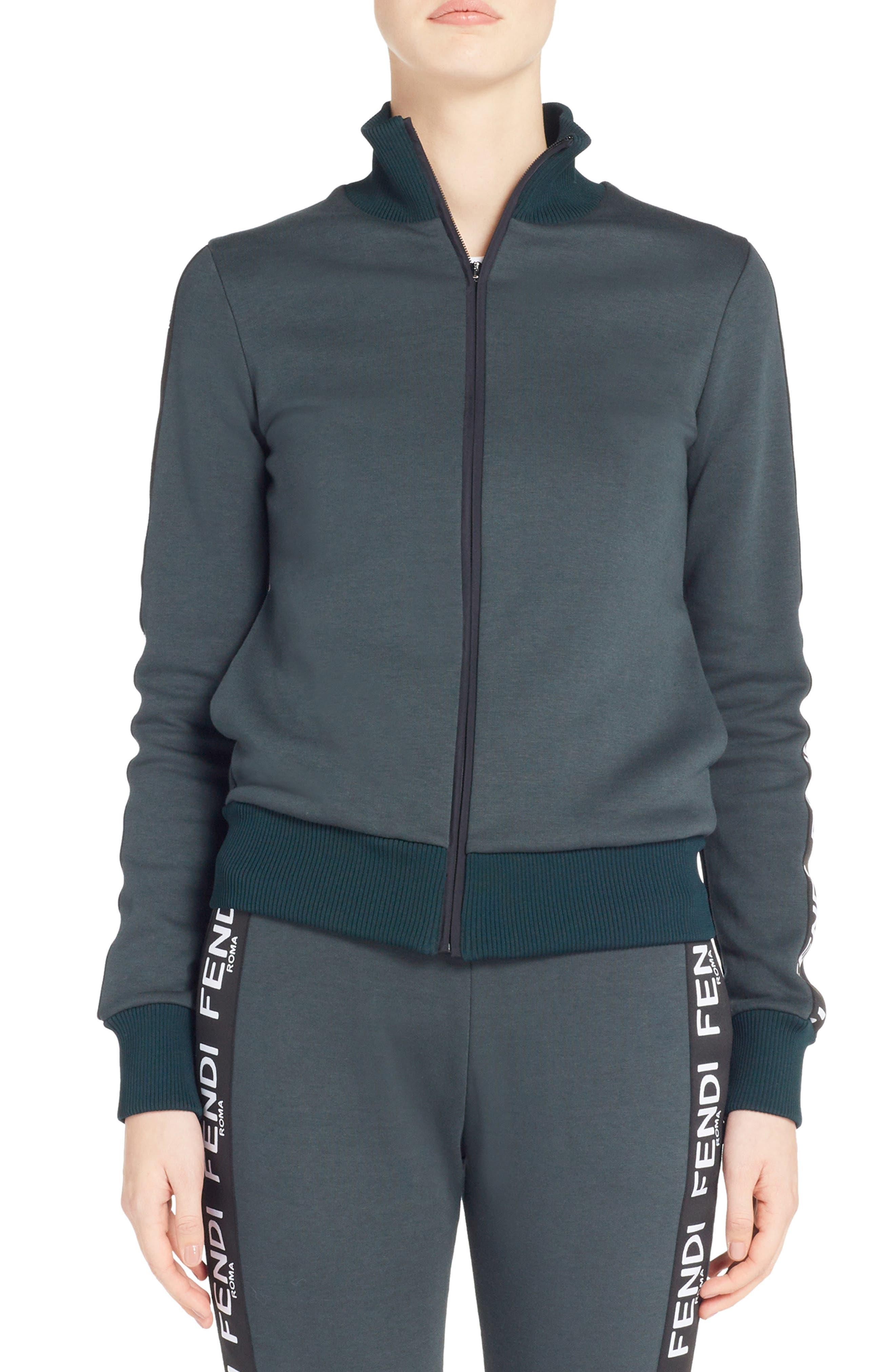 Fendi Logo Track Jacket