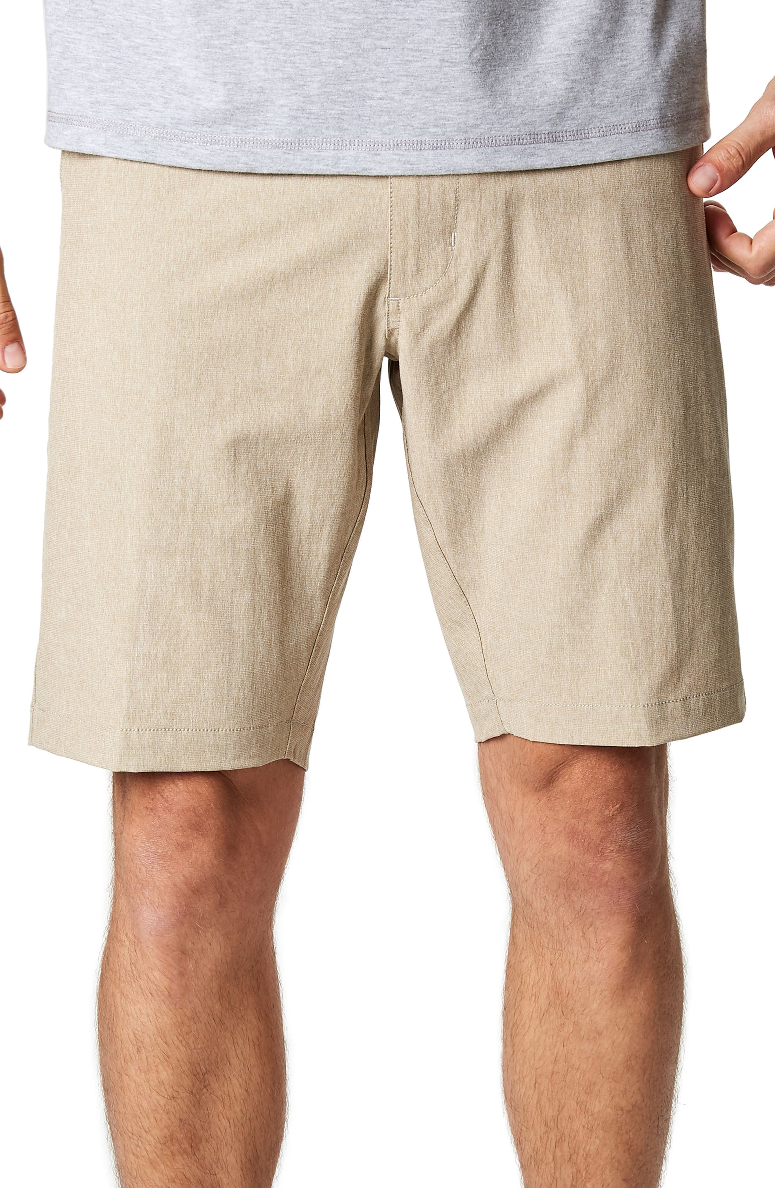Adrenaline Stretch Shorts,                         Main,                         color, Khaki
