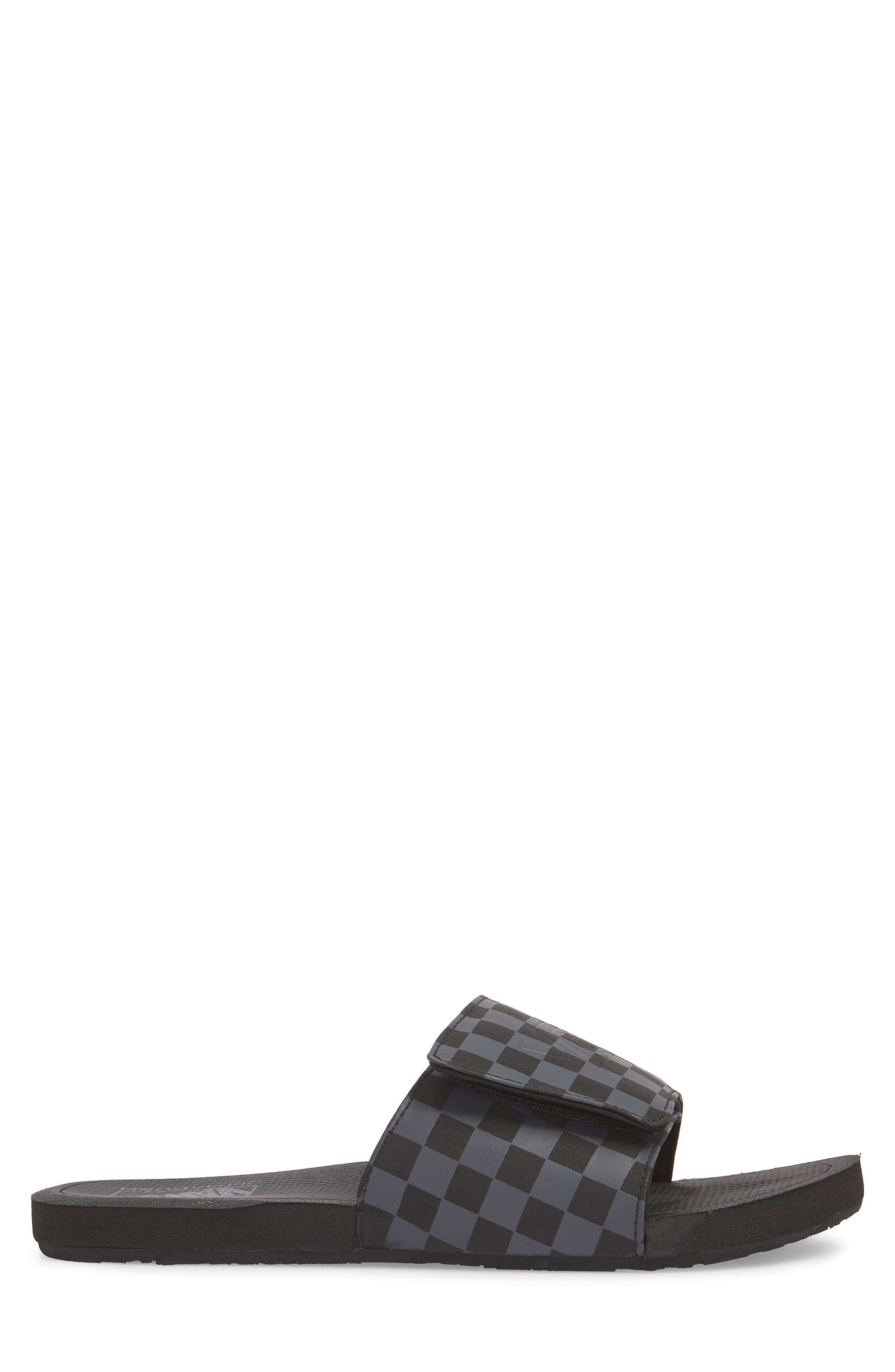 Nexpa Slide Sandal,                             Alternate thumbnail 3, color,                             Black/ Asphalt