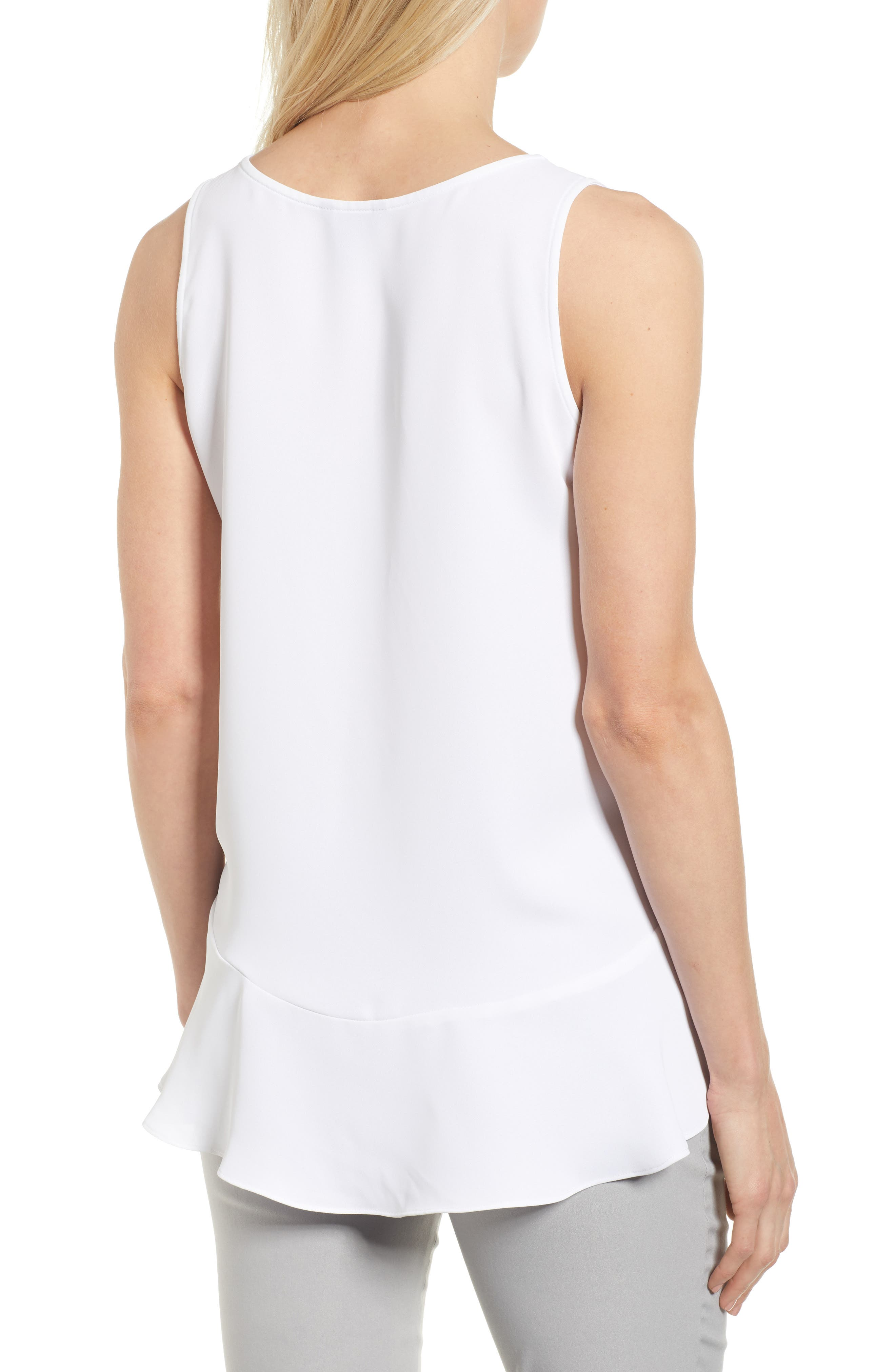 Moroccan Tank,                             Alternate thumbnail 2, color,                             Paper White