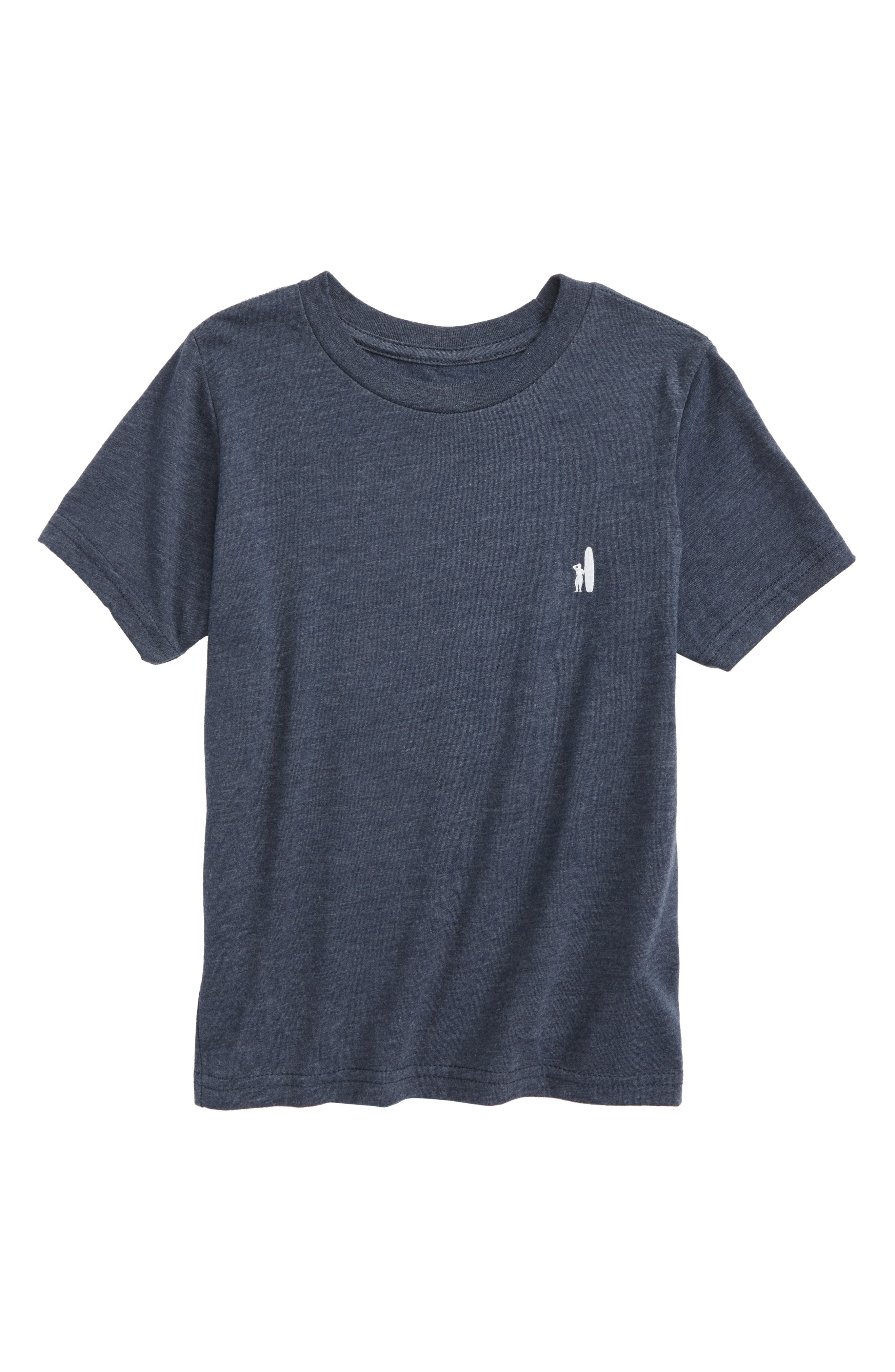 Bear Graphic T-Shirt,                             Main thumbnail 1, color,                             Twilight