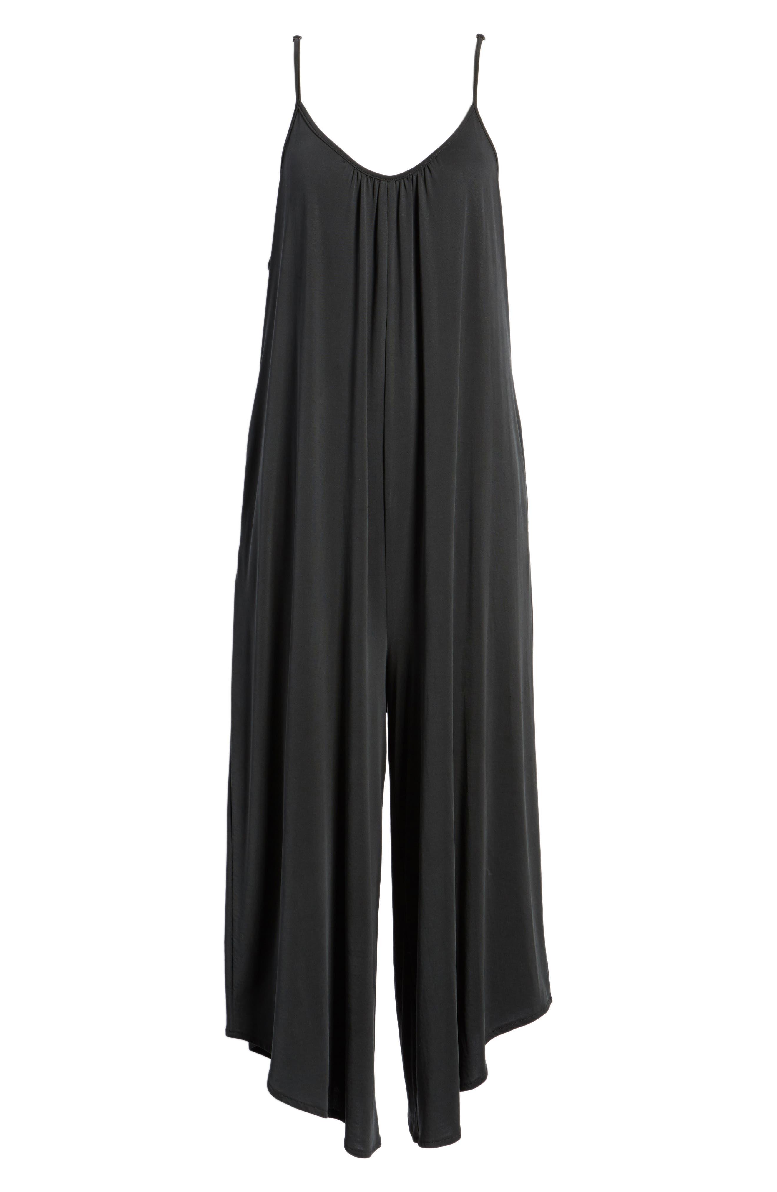 Jessa Jumpsuit,                             Alternate thumbnail 8, color,                             Black