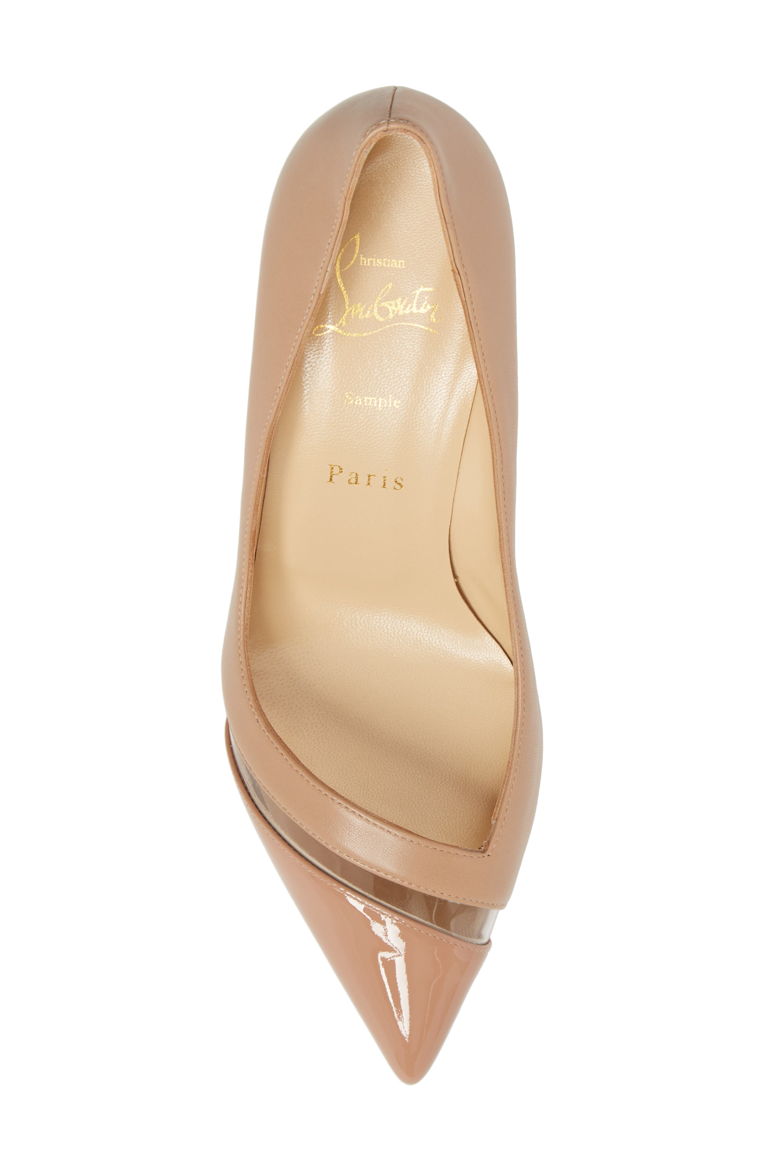 17th Floor Pointy Toe Pump,                             Alternate thumbnail 5, color,                             Nude