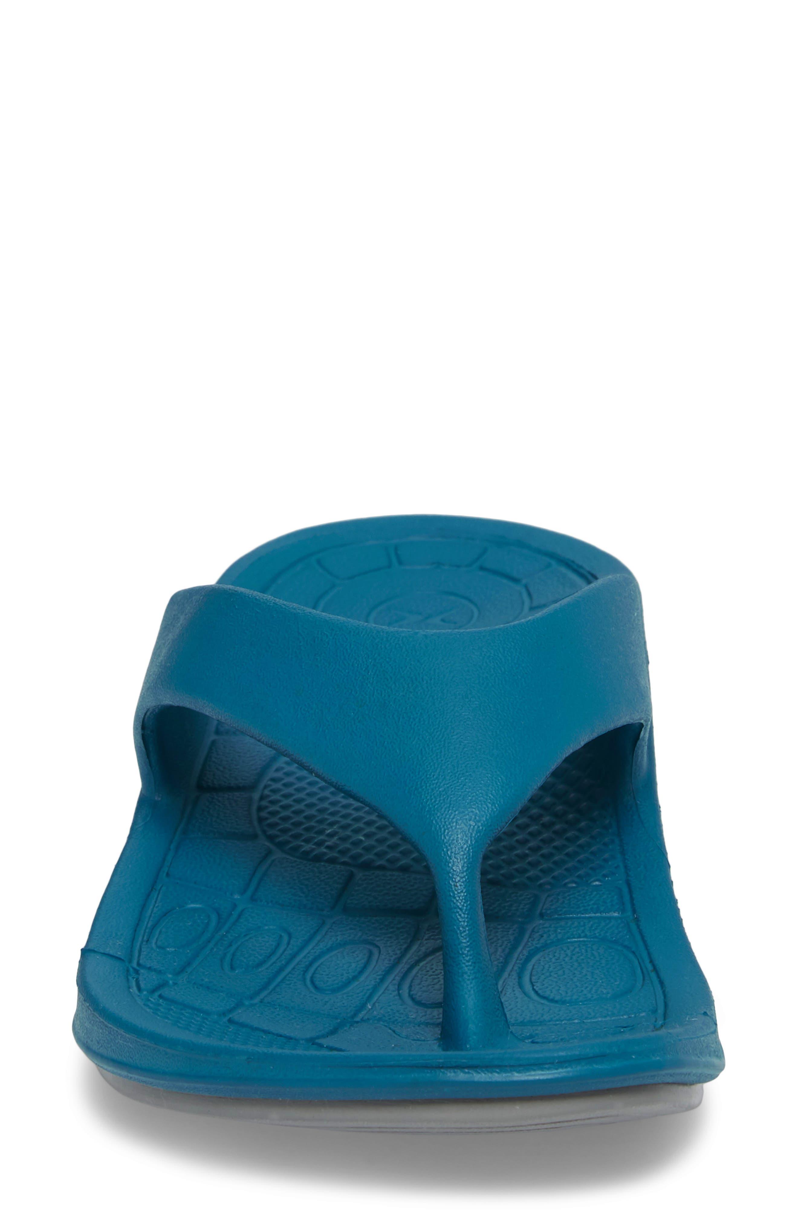 Lynco Flip Flop,                             Alternate thumbnail 4, color,                             Blue
