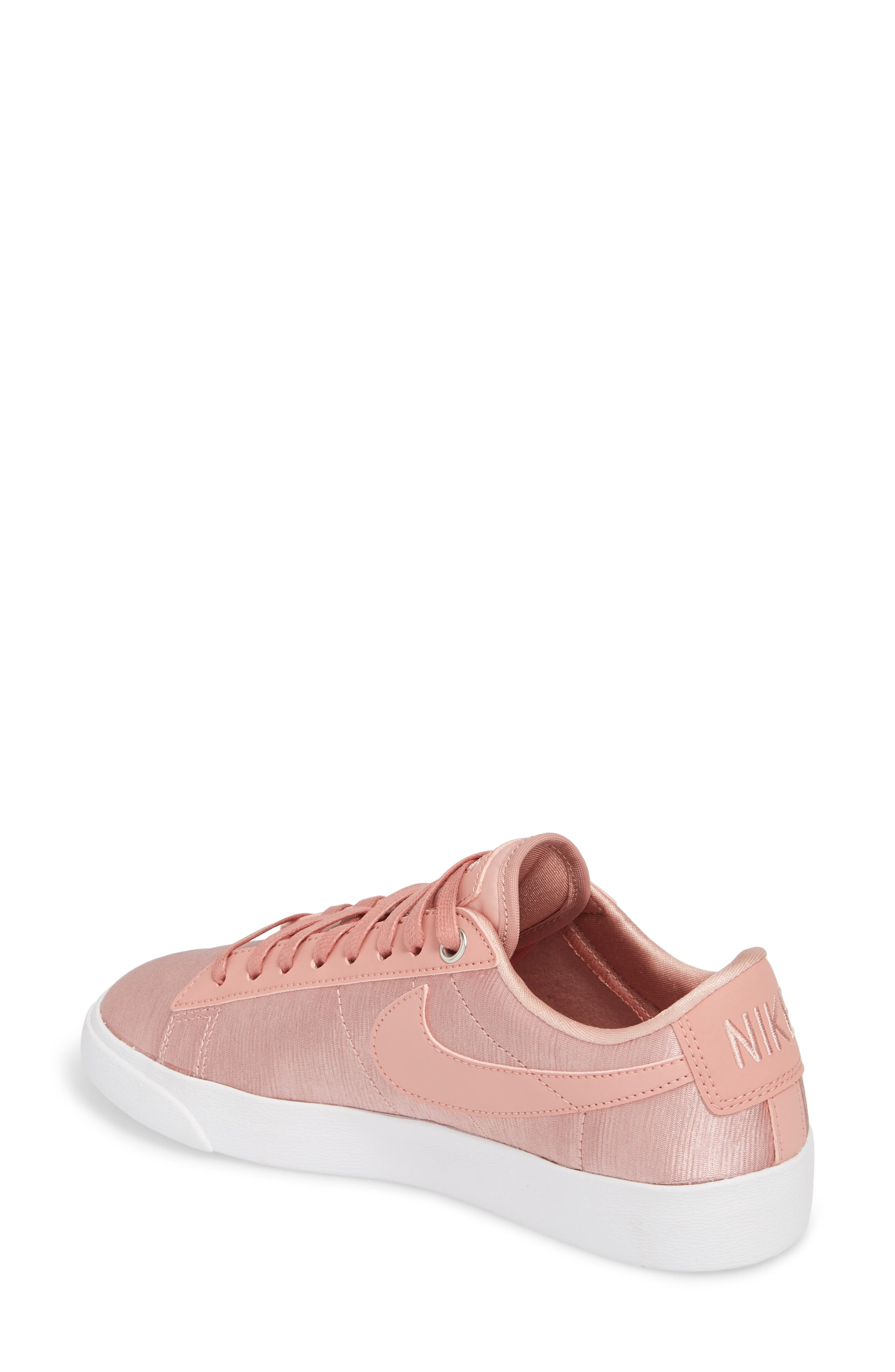 Blazer Low SE Sneaker,                             Alternate thumbnail 2, color,                             Rust Pink/ Rust Pink