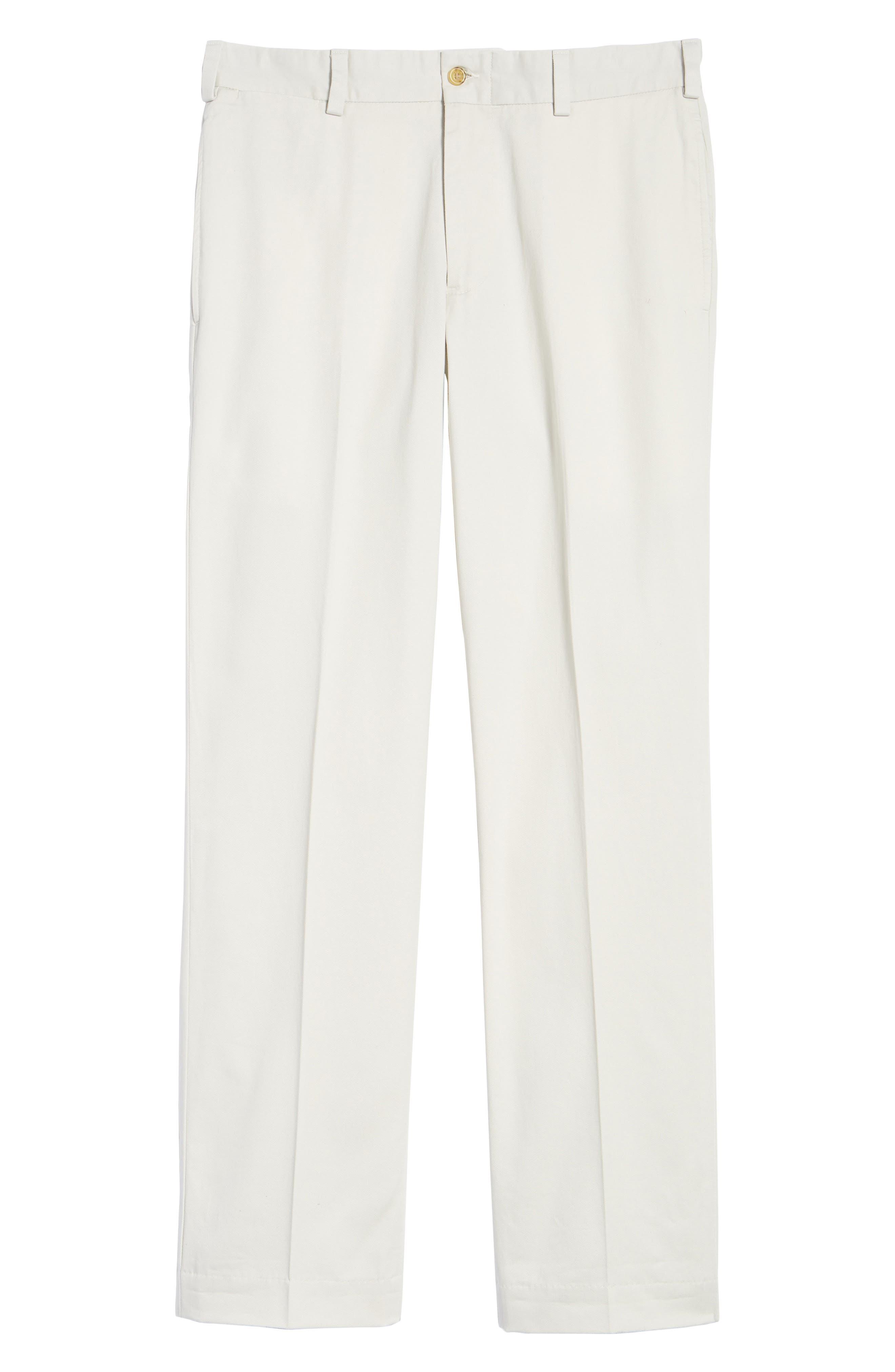 M2 Classic Fit Vintage Twill Flat Front Pants,                             Alternate thumbnail 6, color,                             Stone