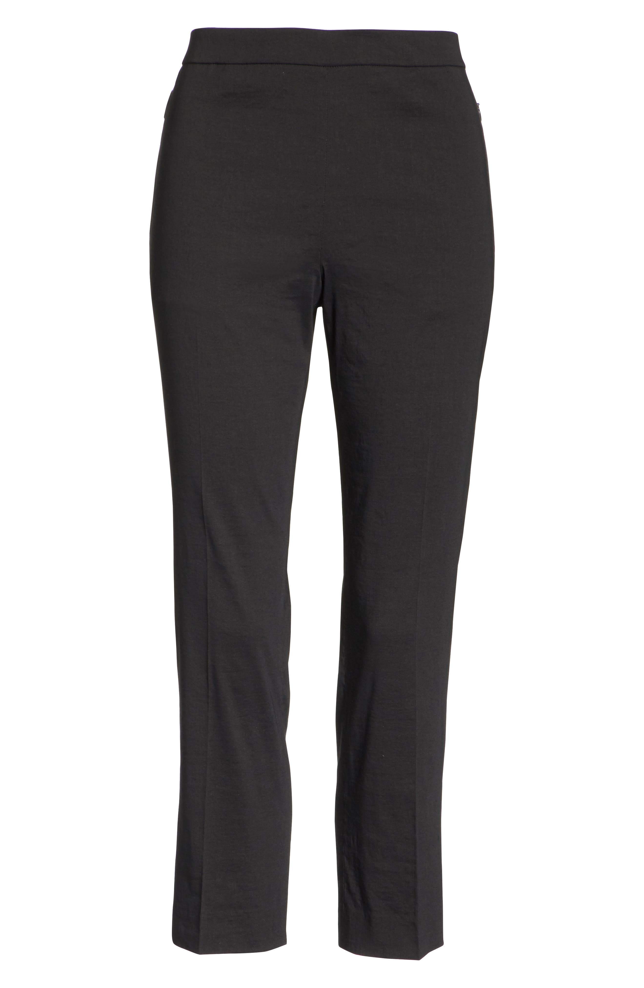 Alternate Image 6  - Theory Pull-On Linen Blend Pants