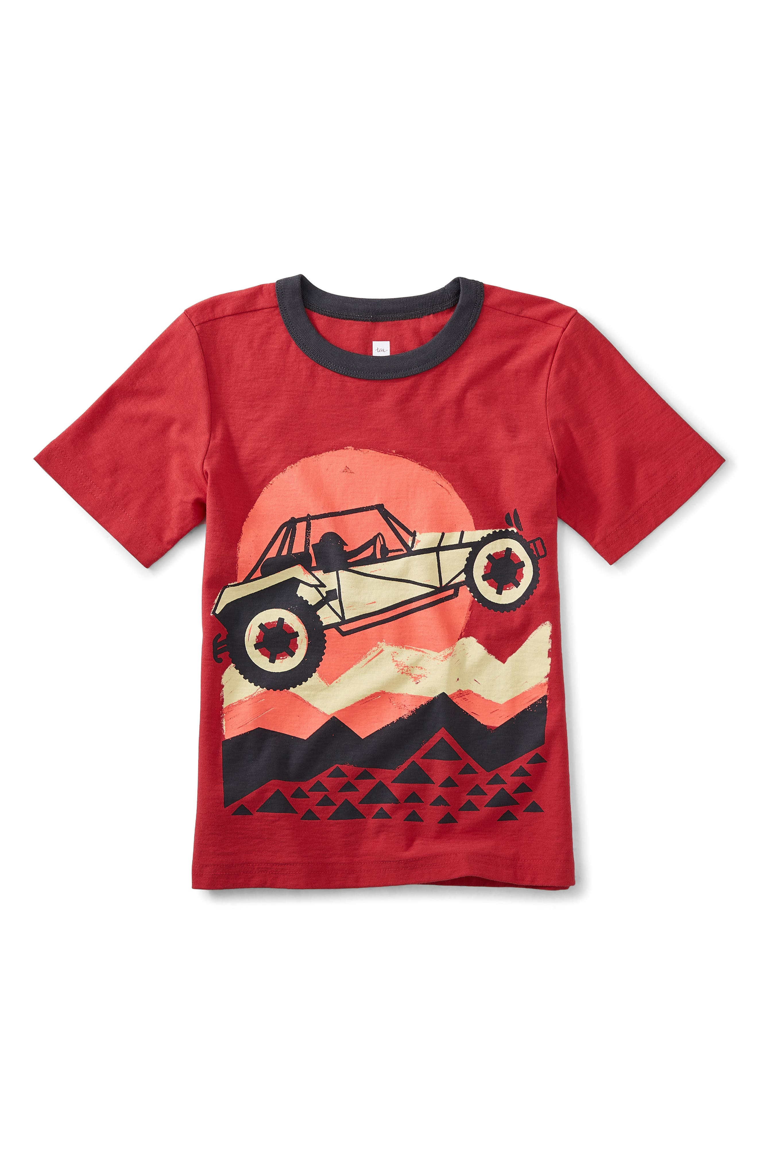 Dune Buggy Graphic T-Shirt,                             Main thumbnail 1, color,                             Cayenne