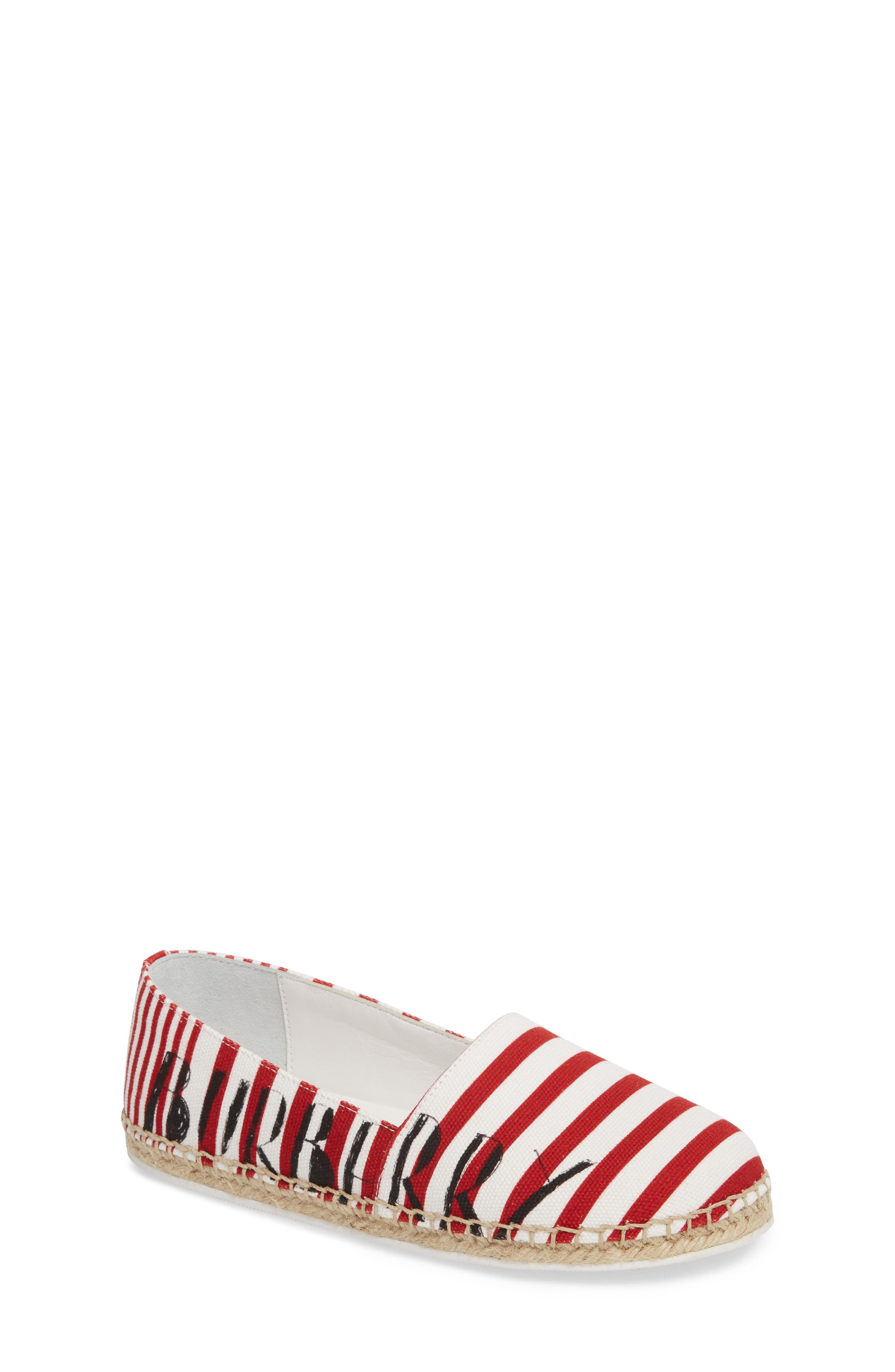 Burberry Peckfield Espadrille Slip-On (Walker, Toddler & Little Kid)