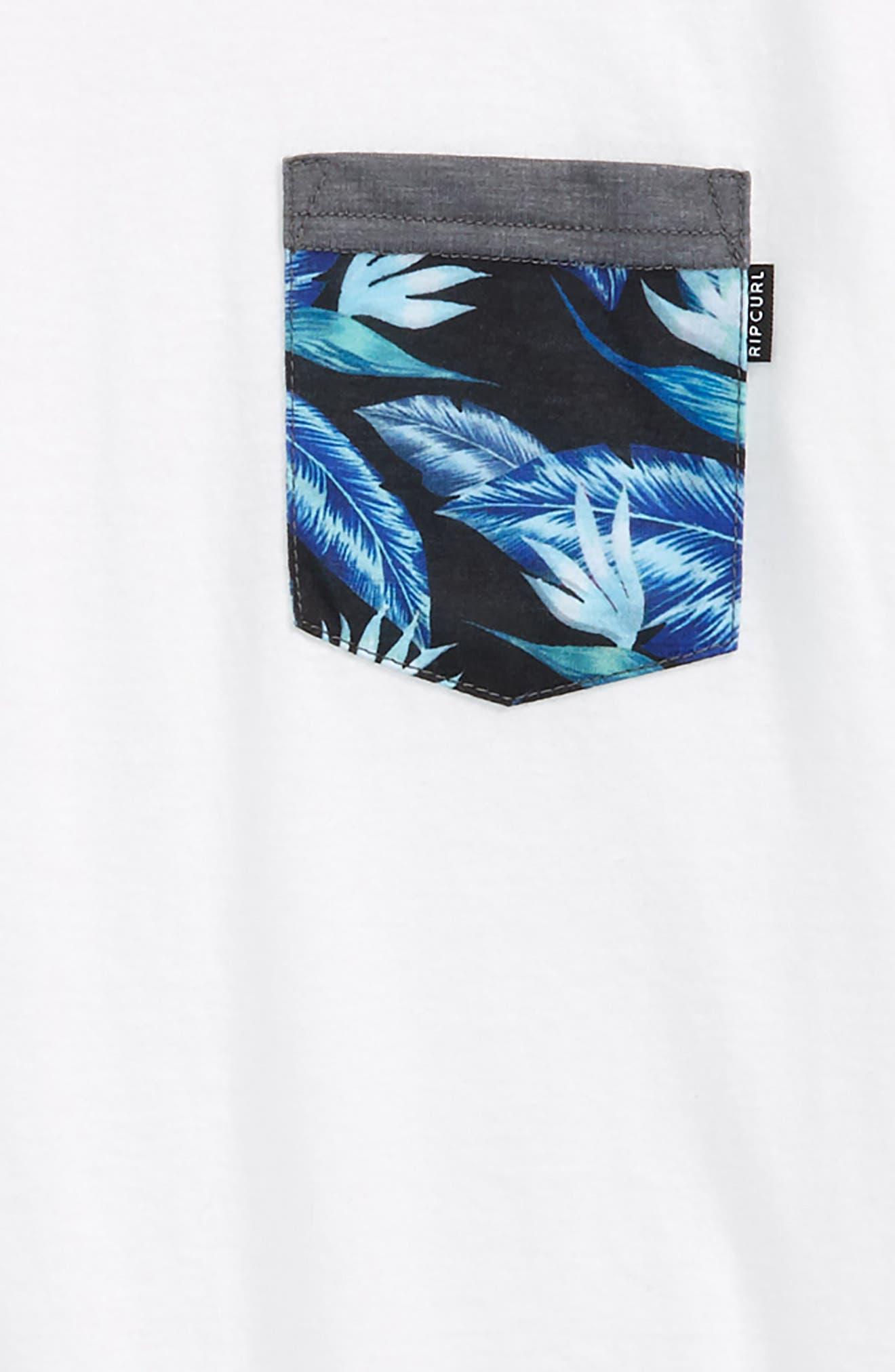 Plethera Premium Pocket T-Shirt,                             Alternate thumbnail 2, color,                             White