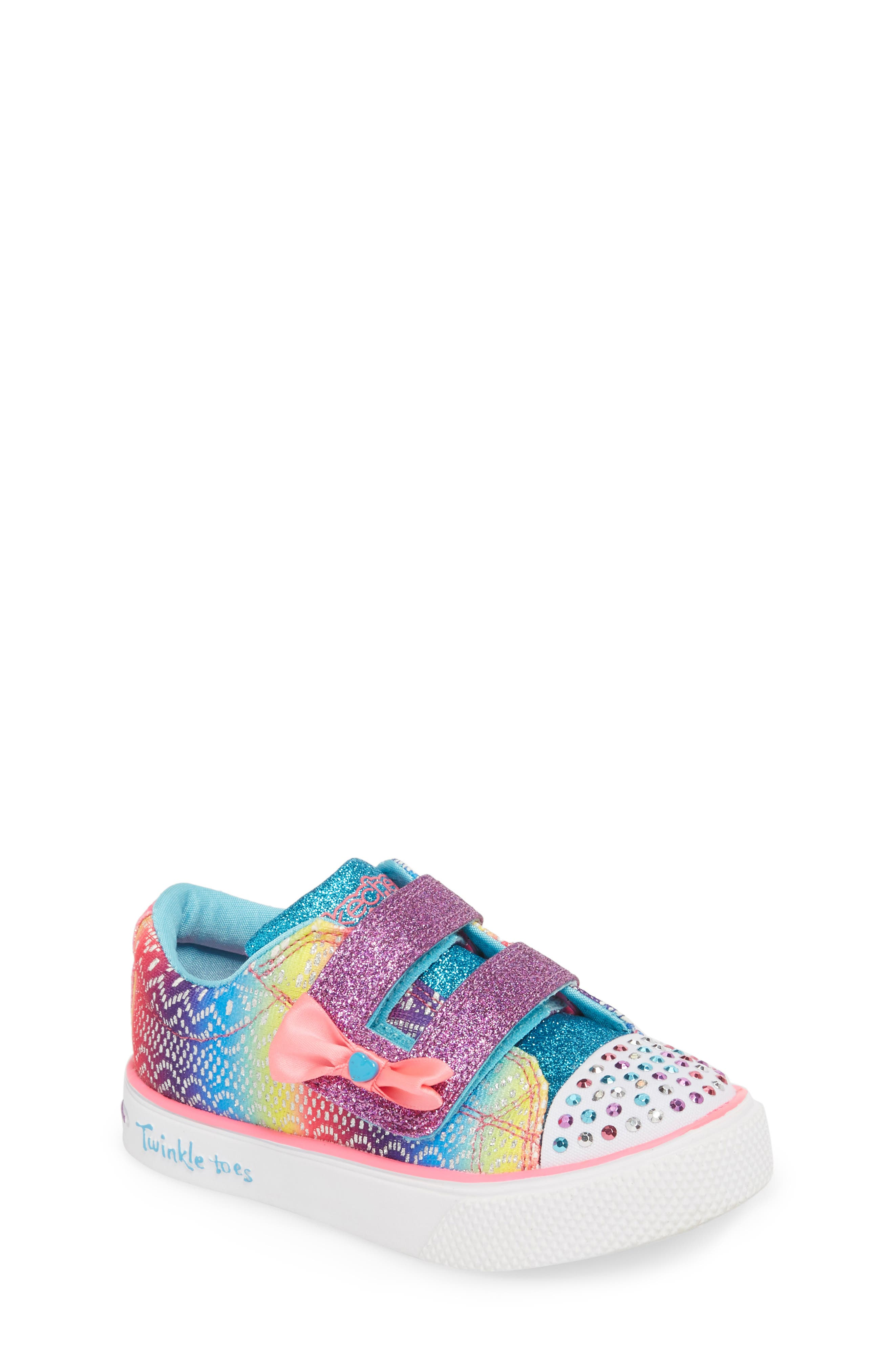 SKECHERS Twinkle Toes Breeze 2.0 Light-Up Sneaker (Walker, Toddler & Little Kid)