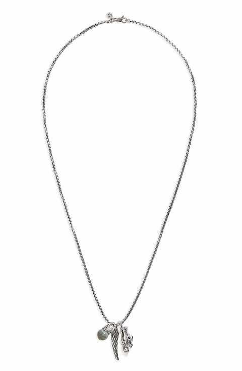 John hardy jewelry nordstrom john hardy legends naga triple charm pendant necklace aloadofball Image collections