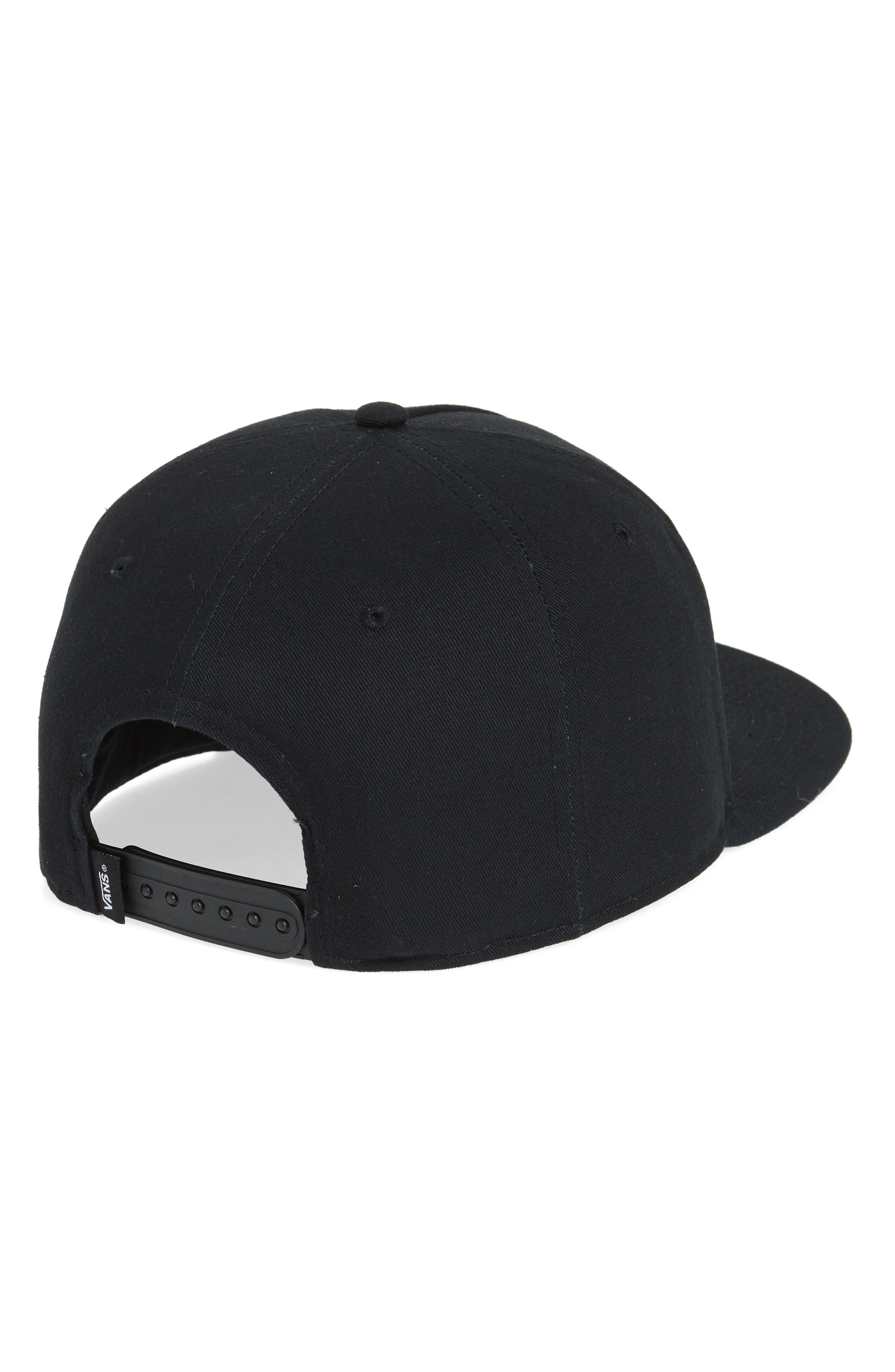 Brann Snapback Cap,                             Alternate thumbnail 2, color,                             Black