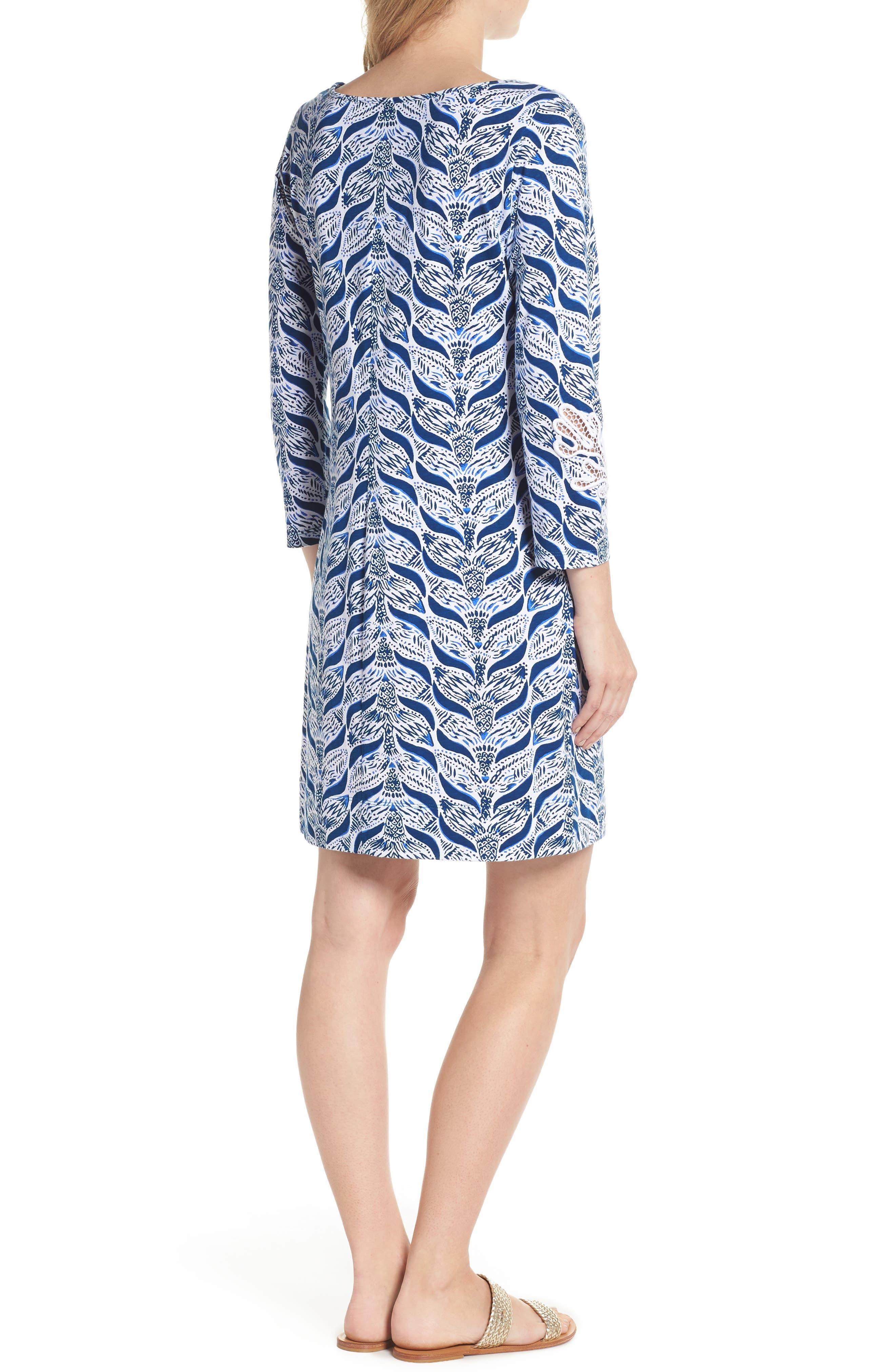Marlowe T-Shirt Dress,                             Alternate thumbnail 2, color,                             Resort White A Mermaids Tail