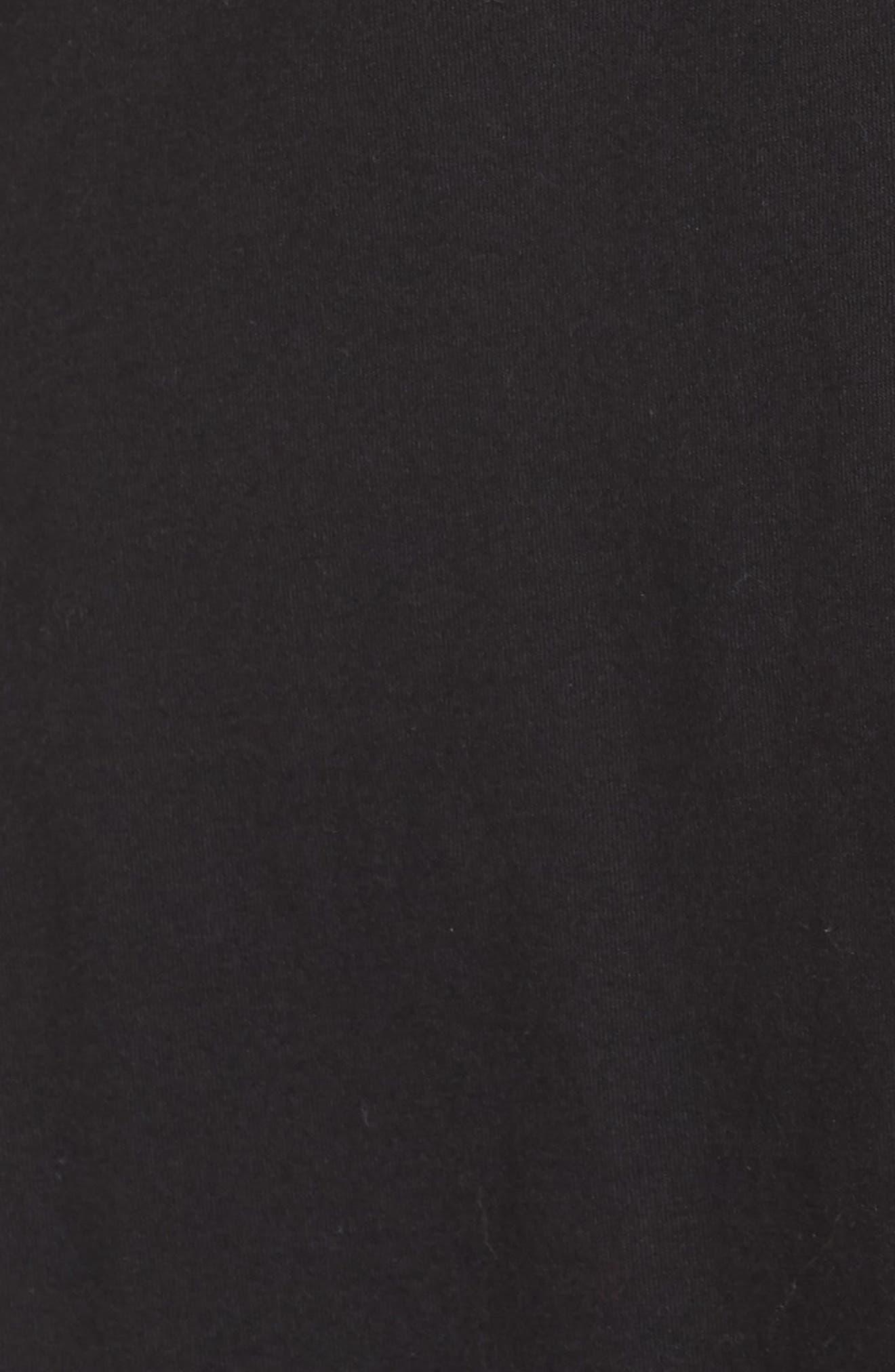 Edie Pajamas,                             Alternate thumbnail 5, color,                             Black