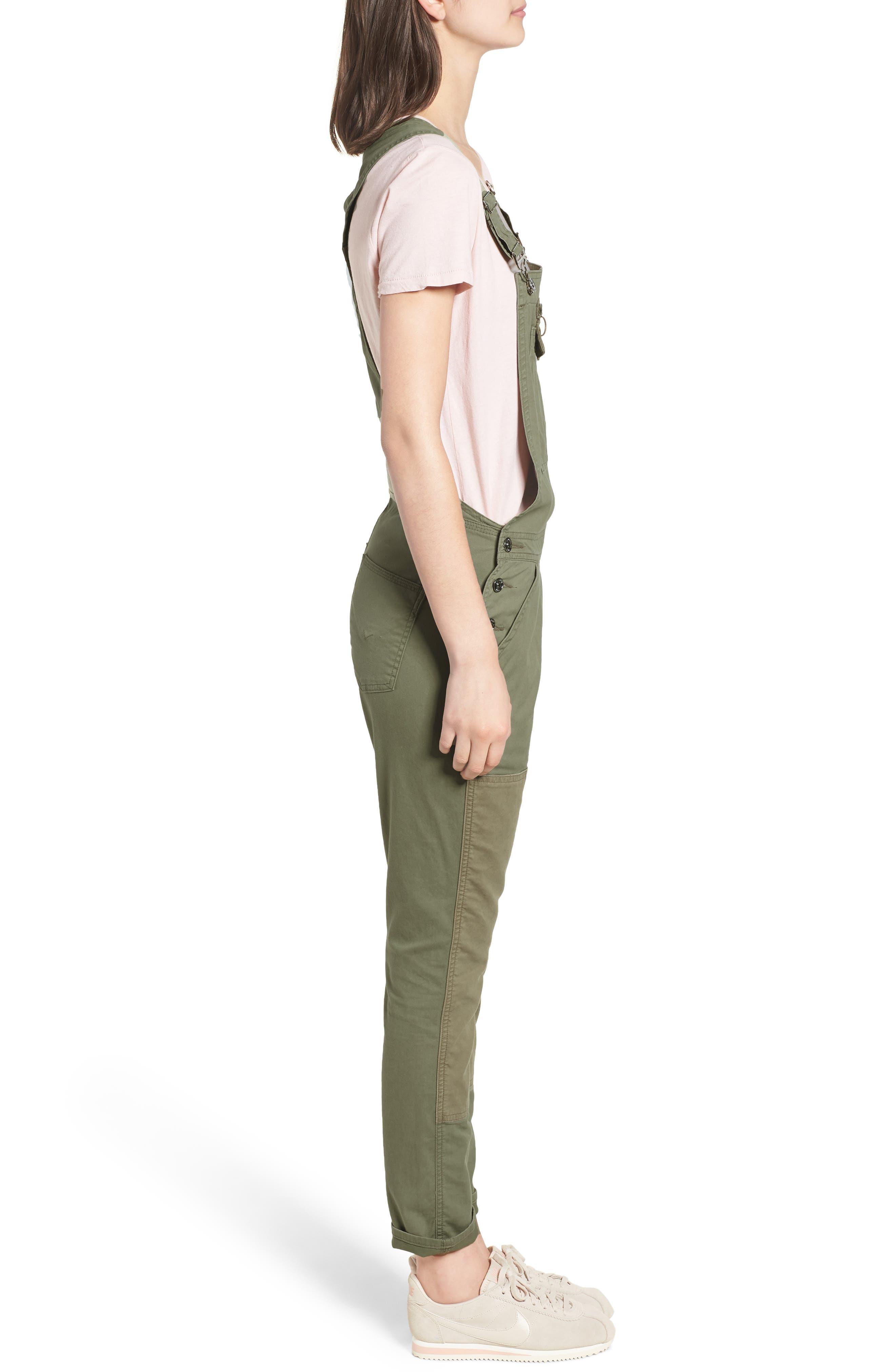 Alternate Image 3  - Hudson Jeans Workwear Overalls