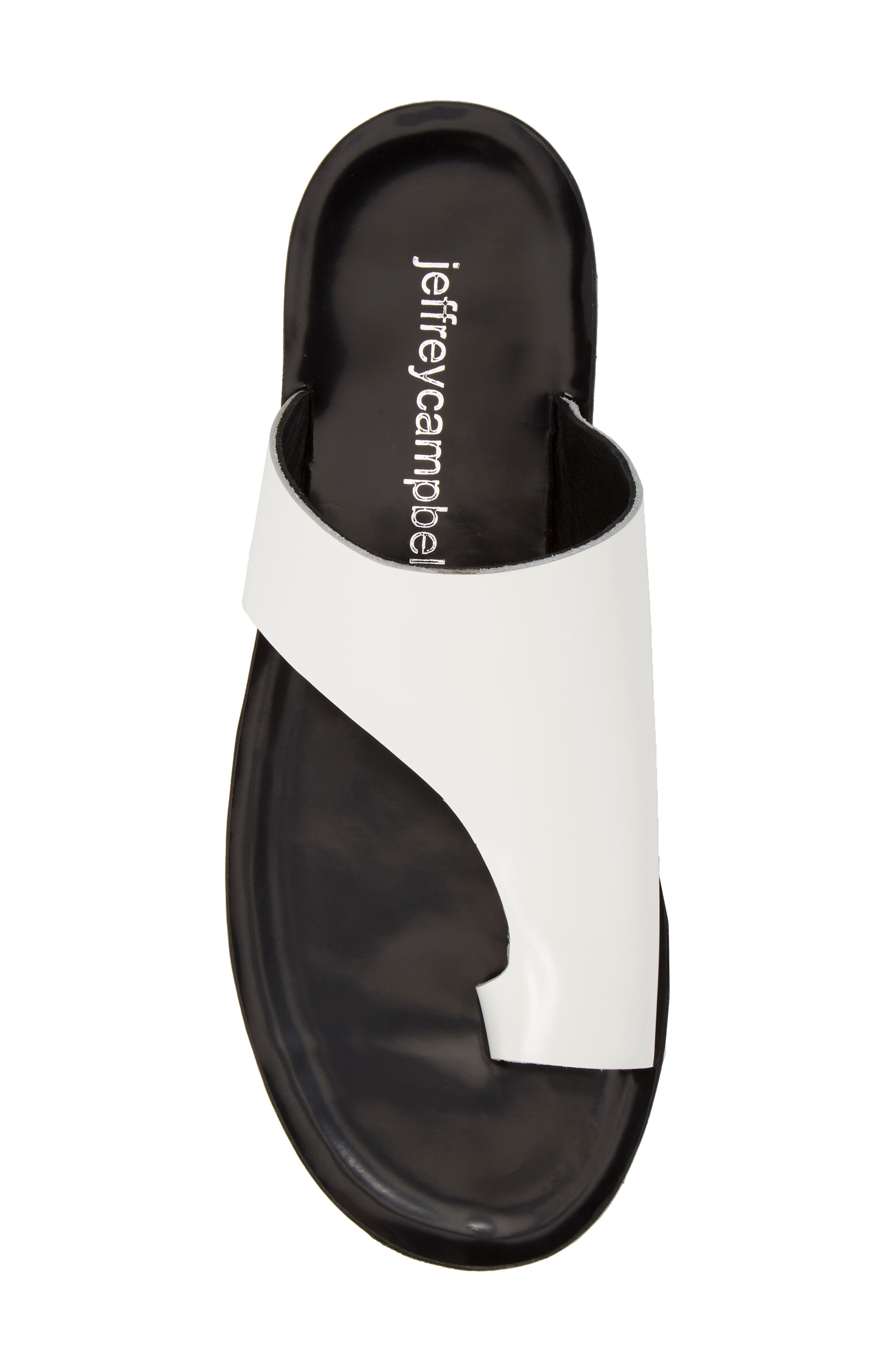 Alternate Image 5  - Jeffrey Campbell Morada Asymmetrical Slide Sandal (Women)