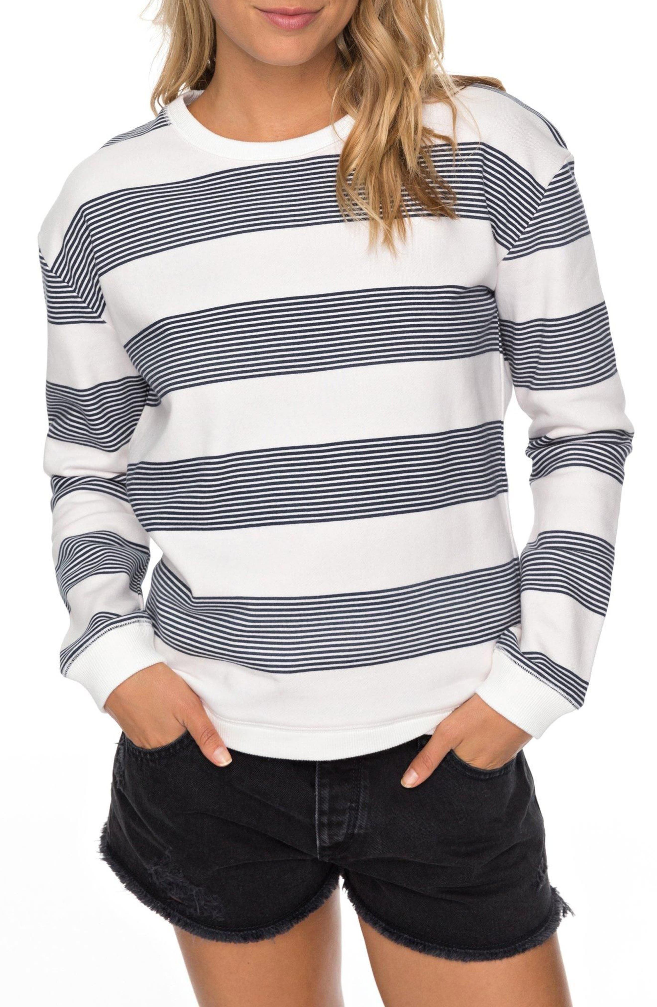 Roxy Echo Moments Stripe Pullover