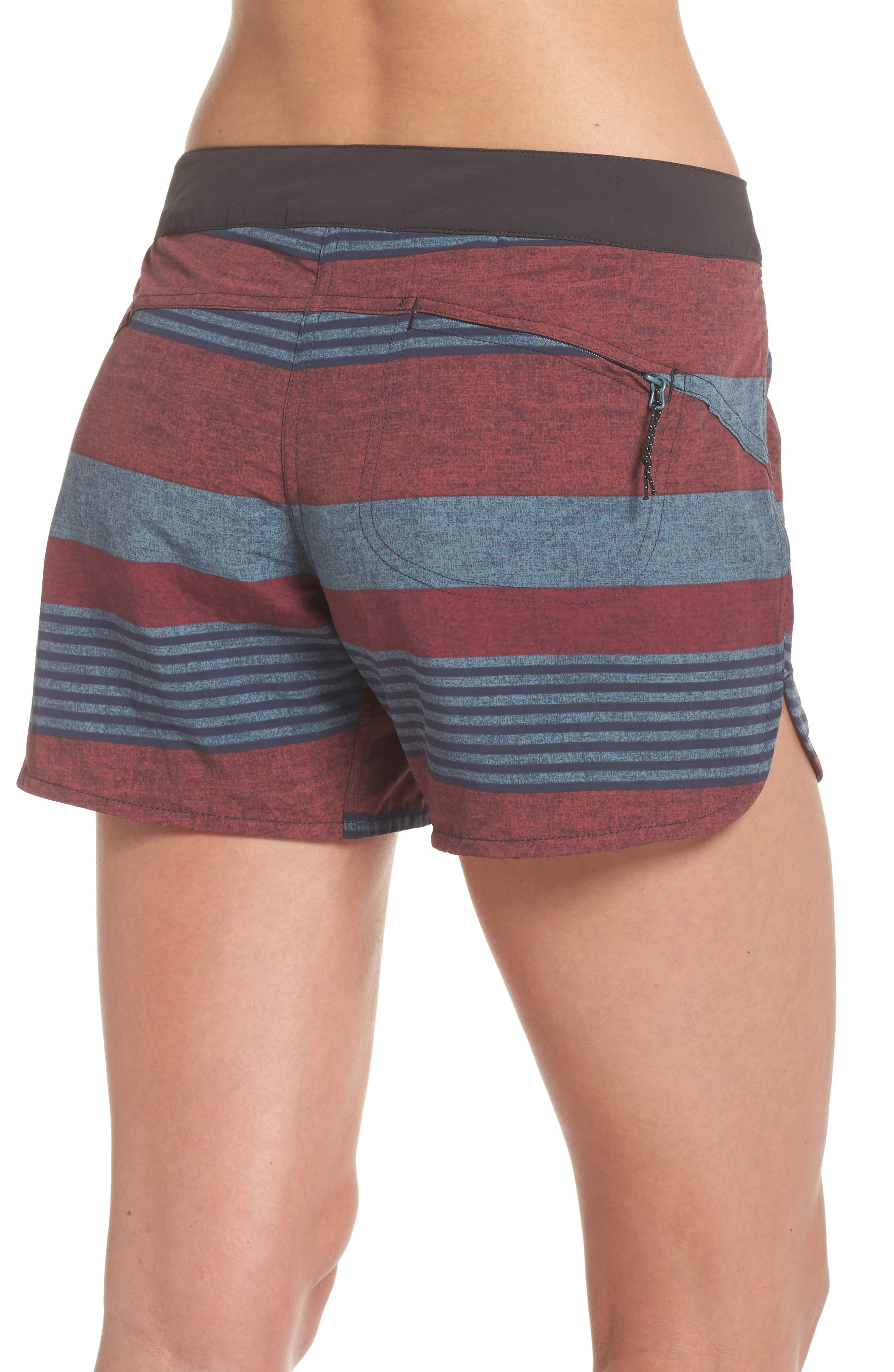 Wavefarer Board Shorts,                             Alternate thumbnail 2, color,                             Fitz Stripe: Kiln Pink
