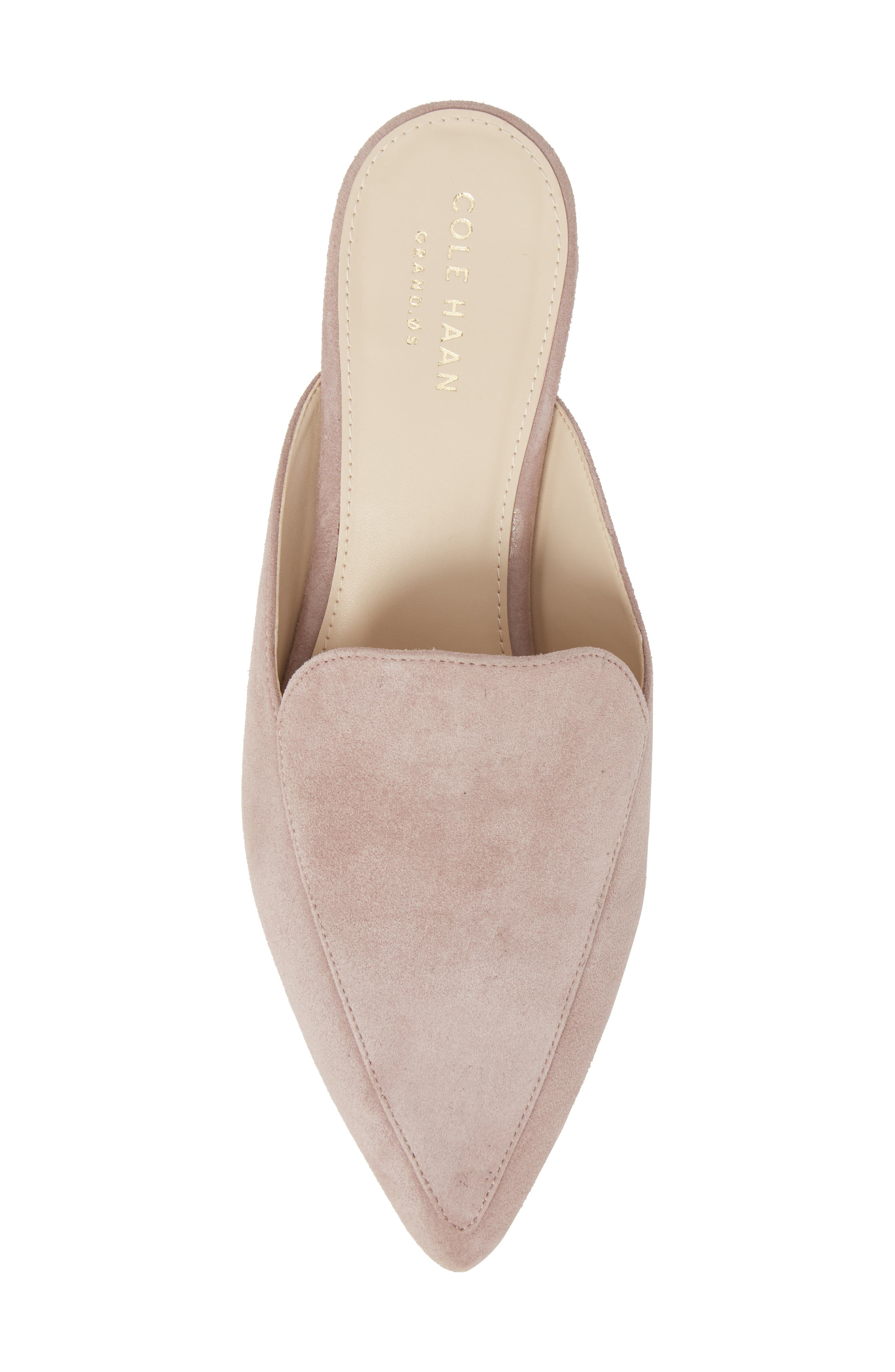 Piper Loafer Mule,                             Alternate thumbnail 5, color,                             Twilight Mauve Suede