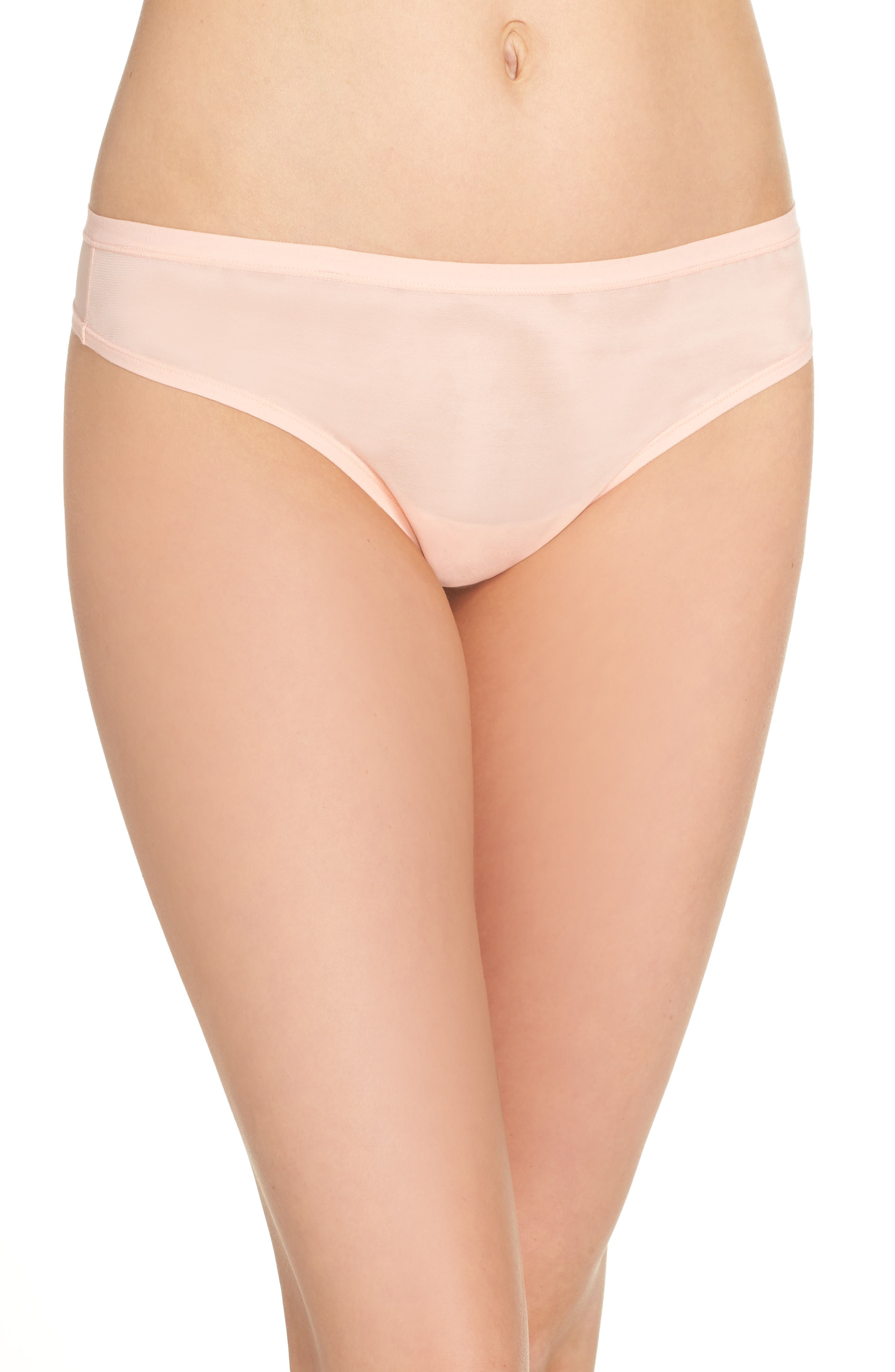 Bliss Light Thong,                         Main,                         color, Creamsicle