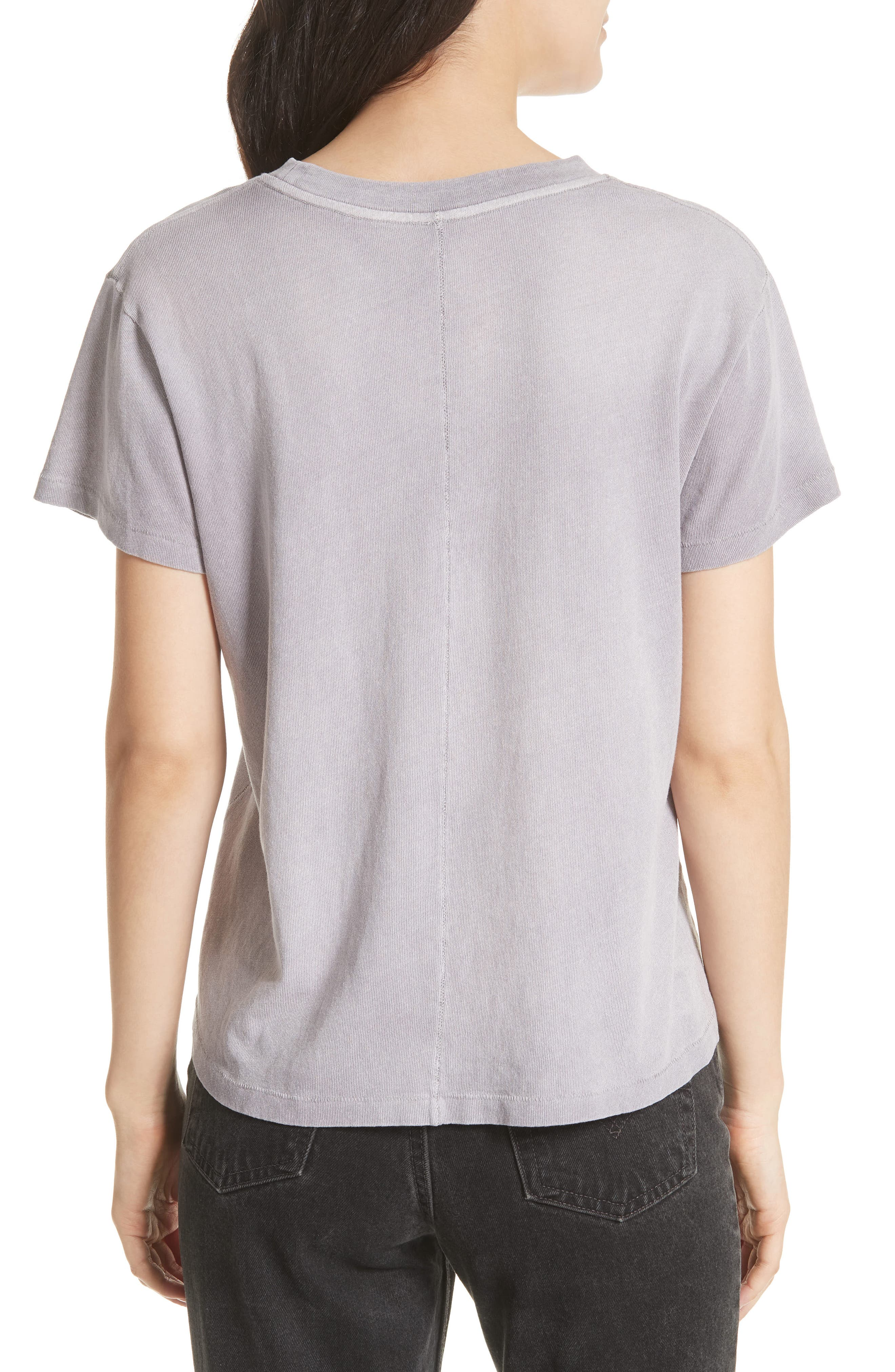We the People by Free People Vintage Pocket Tee,                             Alternate thumbnail 2, color,                             Lilac