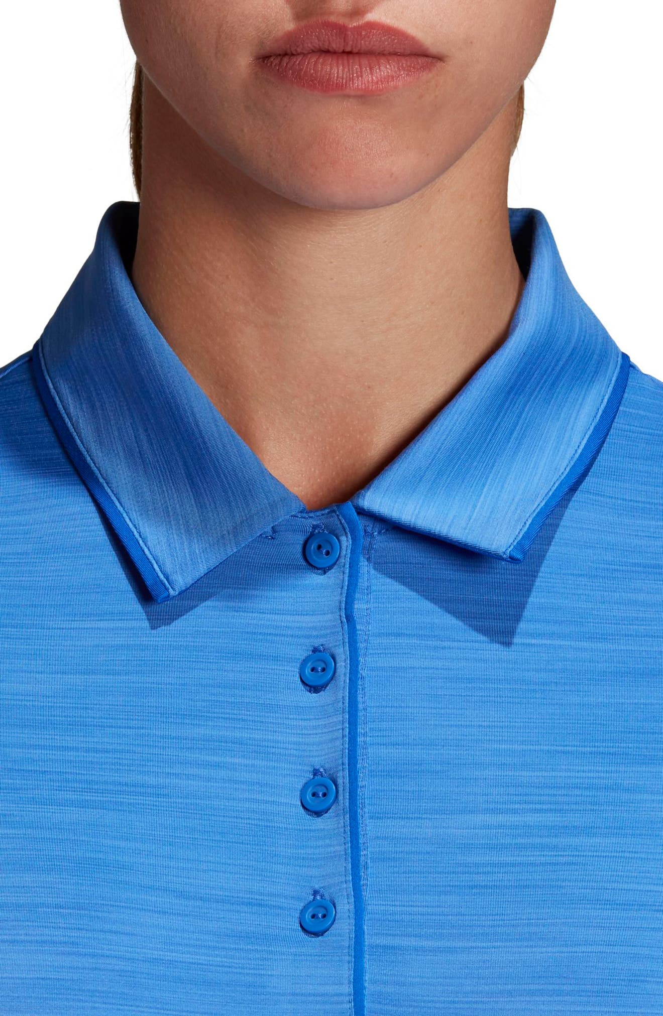 Ultimate365 Sleeveless Golf Polo,                             Alternate thumbnail 4, color,                             Hi-Res Blue