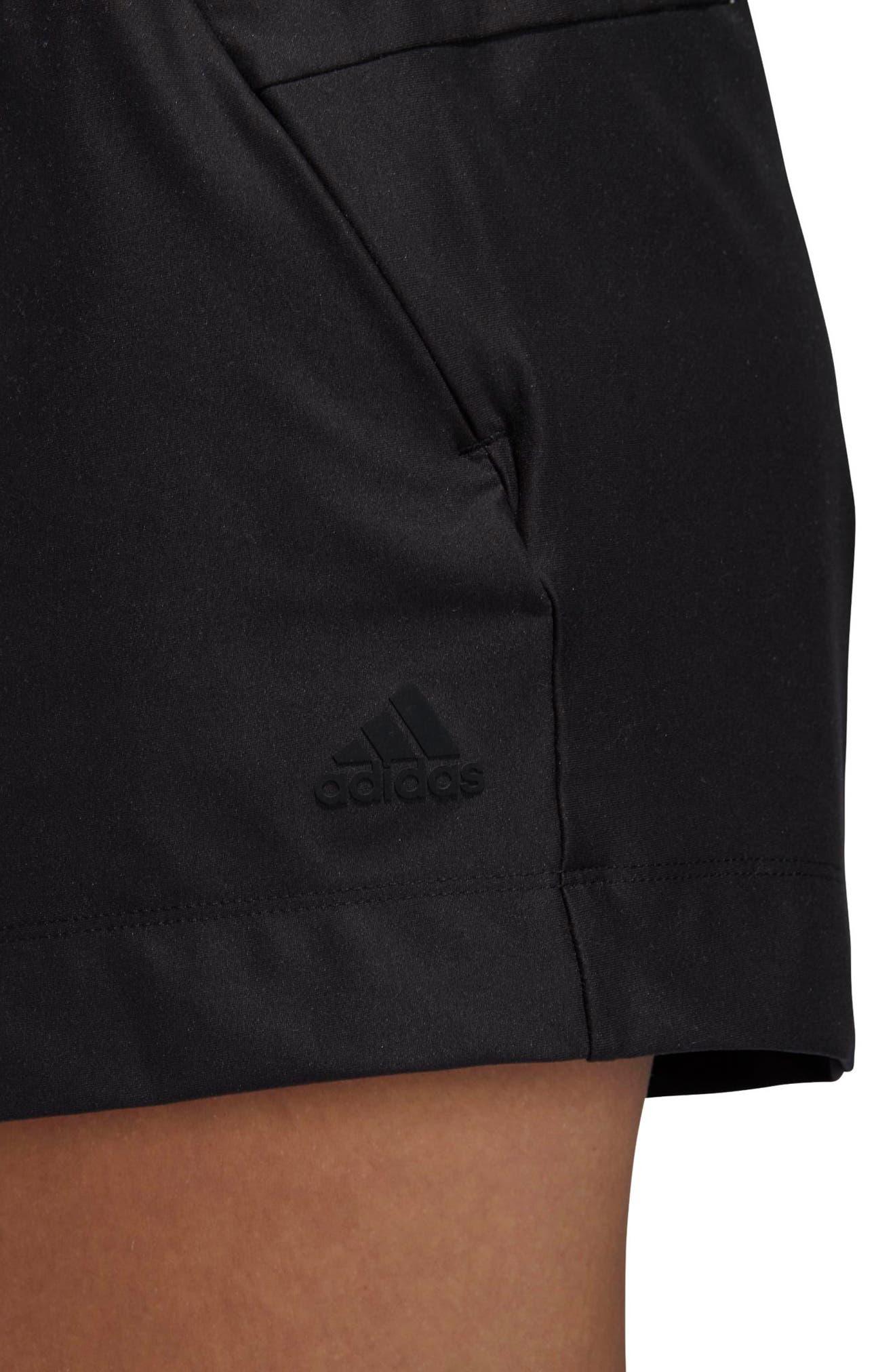 ID Mesh Shorts,                             Alternate thumbnail 5, color,                             Black