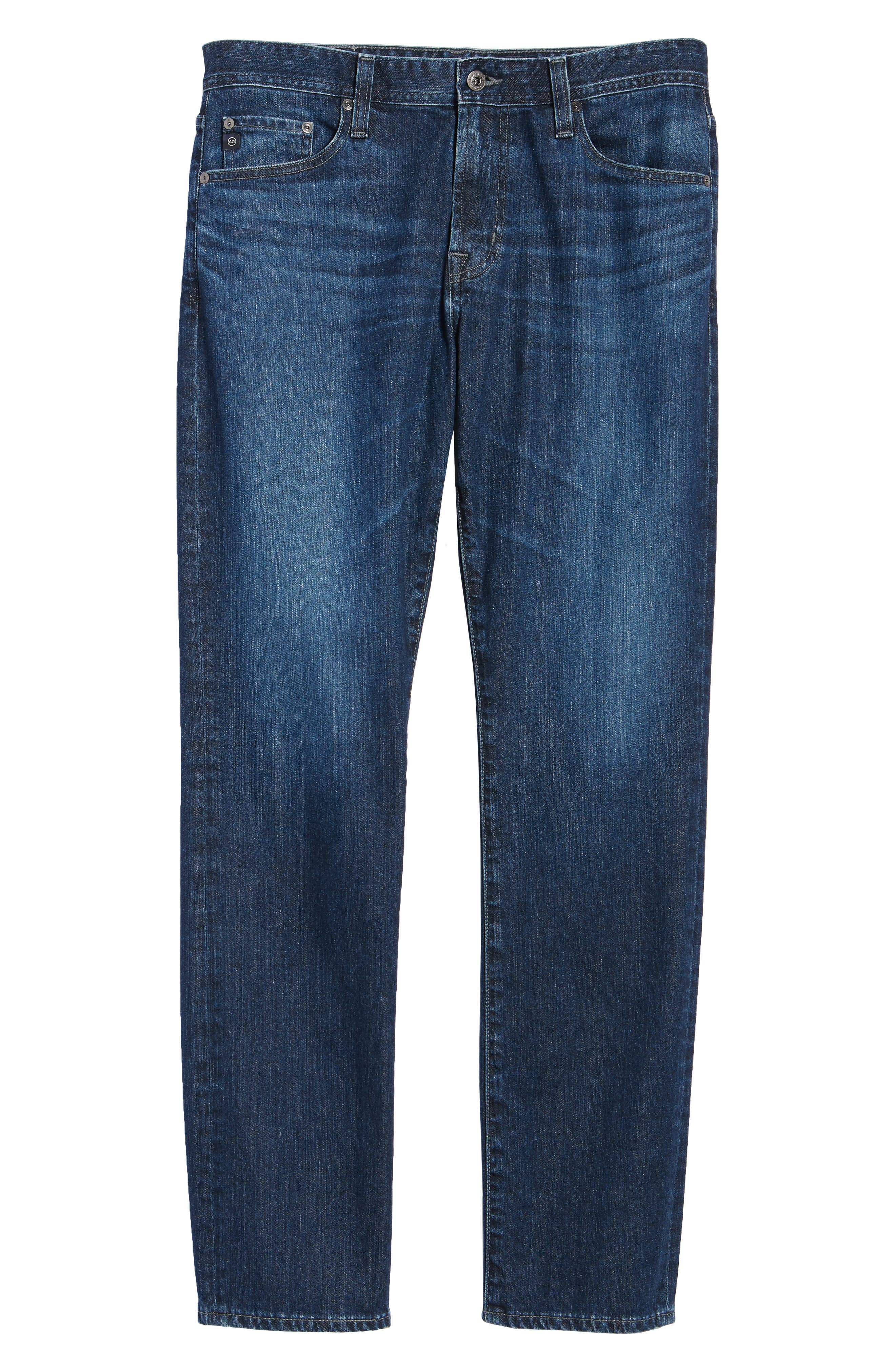 Ives Straight Leg Jeans,                             Alternate thumbnail 6, color,                             Lakeview